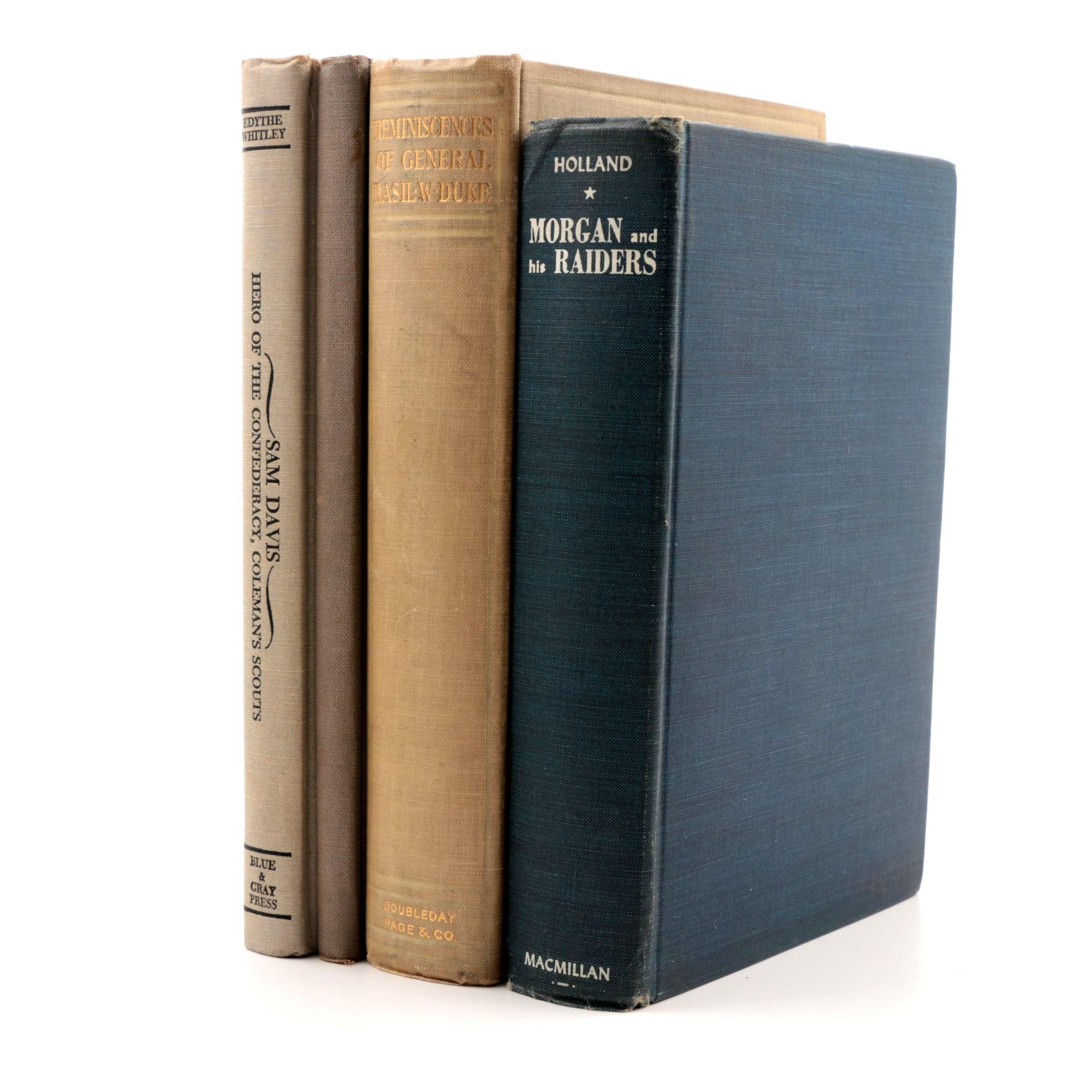 Books on Confederate Generals of the American Civil War