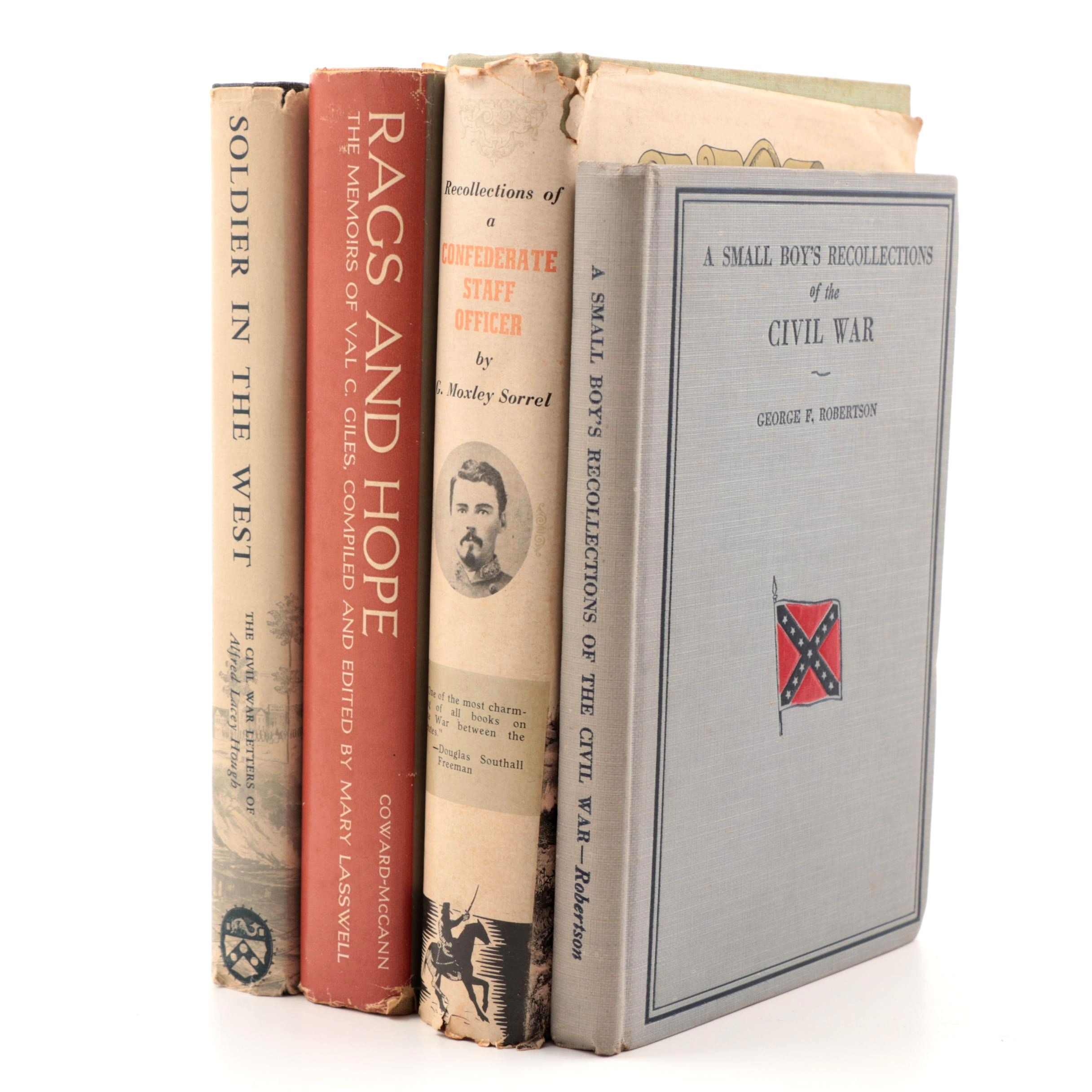 Early to Mid 20th Century Books on the American Civil War Experiences
