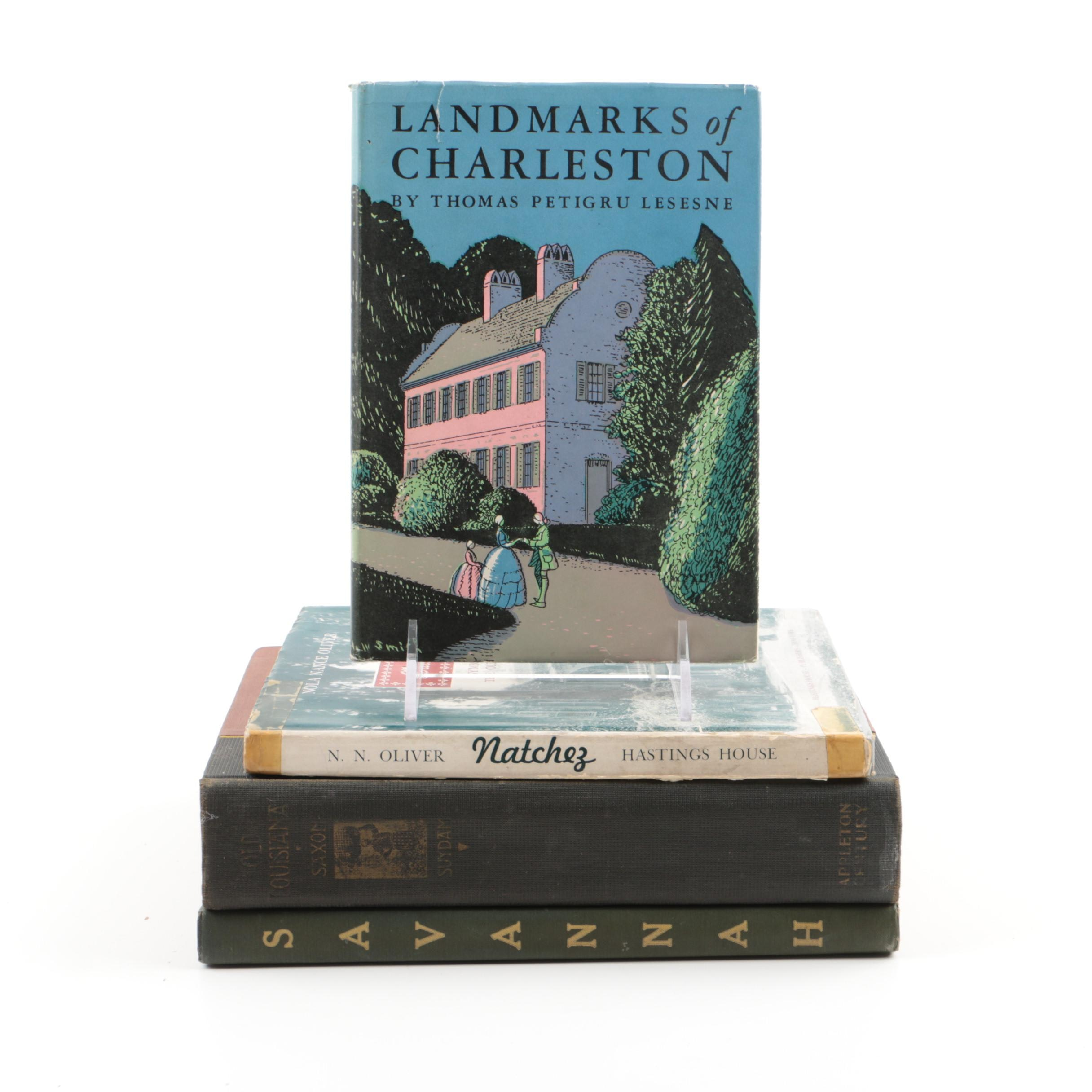 Books on Old Southern Cities and Historical Landmarks