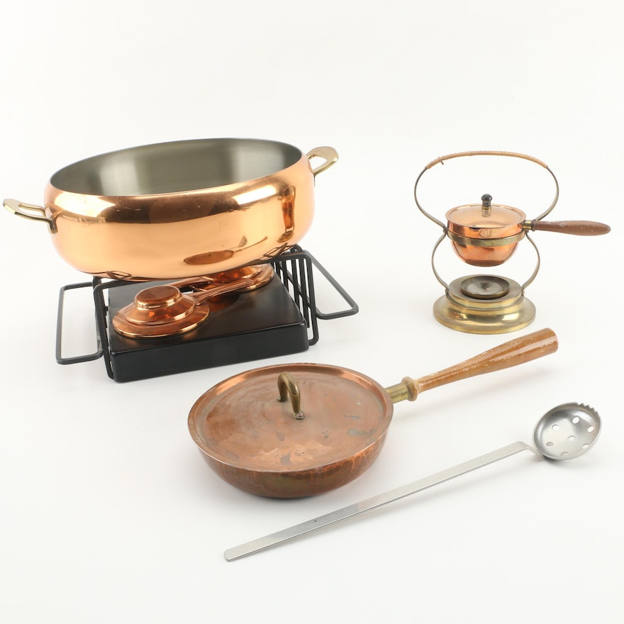 Copper Cookware Featuring German Hand Wrought Meersburg And Swiss Spring