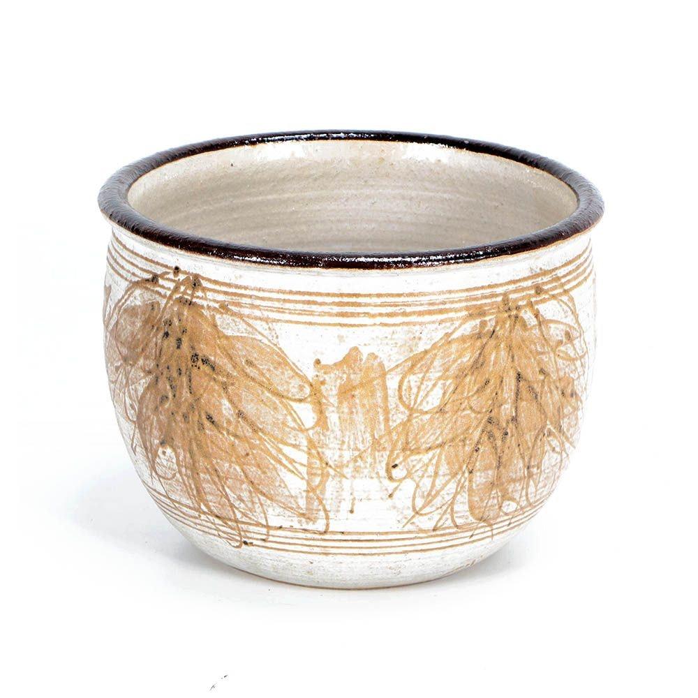 J.T. Abernathy Wheel Thrown Stoneware Bowl