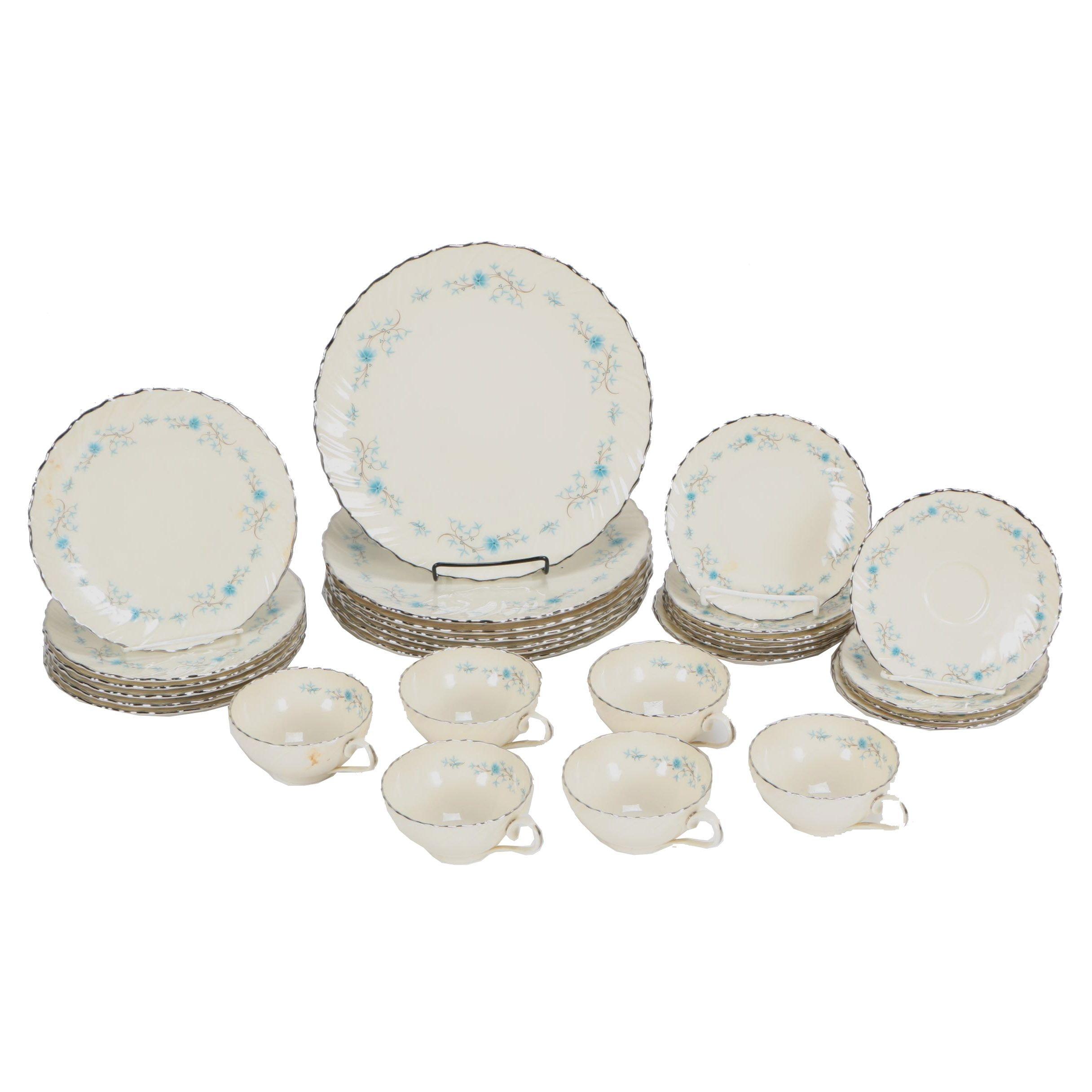 "Lenox ""Chanson"" Porcelain Dinnerware c. 1959-1978"