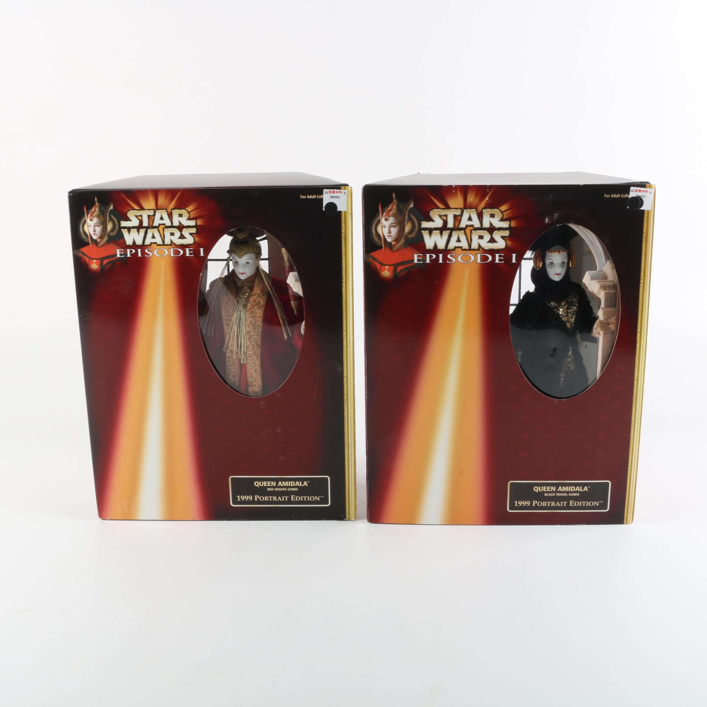 "1999 Hasbro Star Wars ""Queen Amidala"" Portrait Dolls"
