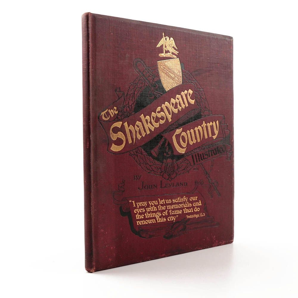 """Early 20th Century Book, """"The Shakespeare Country Illustrated"""""""
