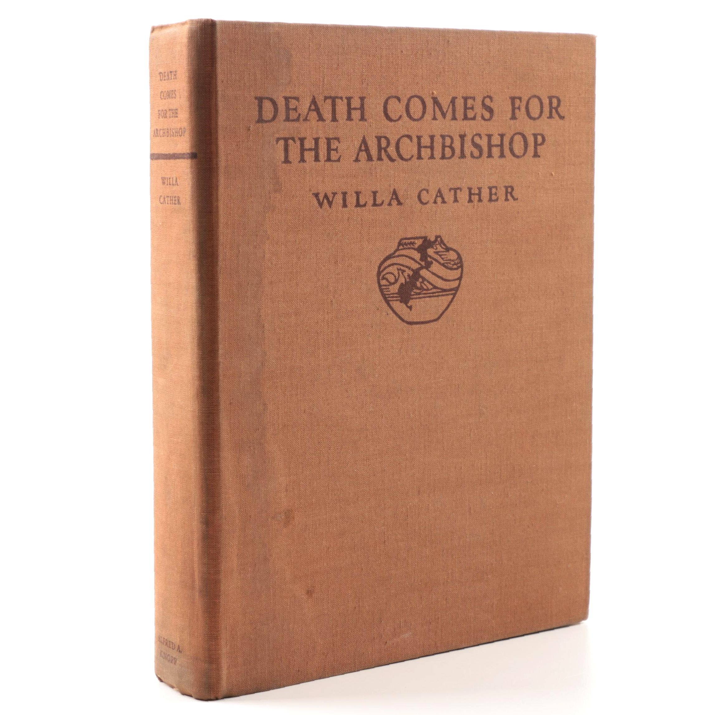 """1929 """"Death Comes for the Archbishop"""" by Willa Cather"""