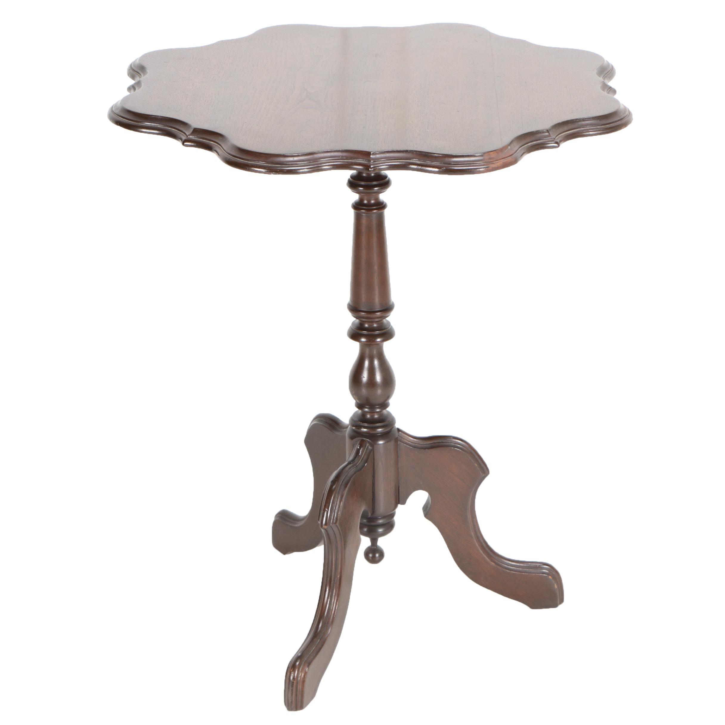 Vintage Mahogany Tea Table