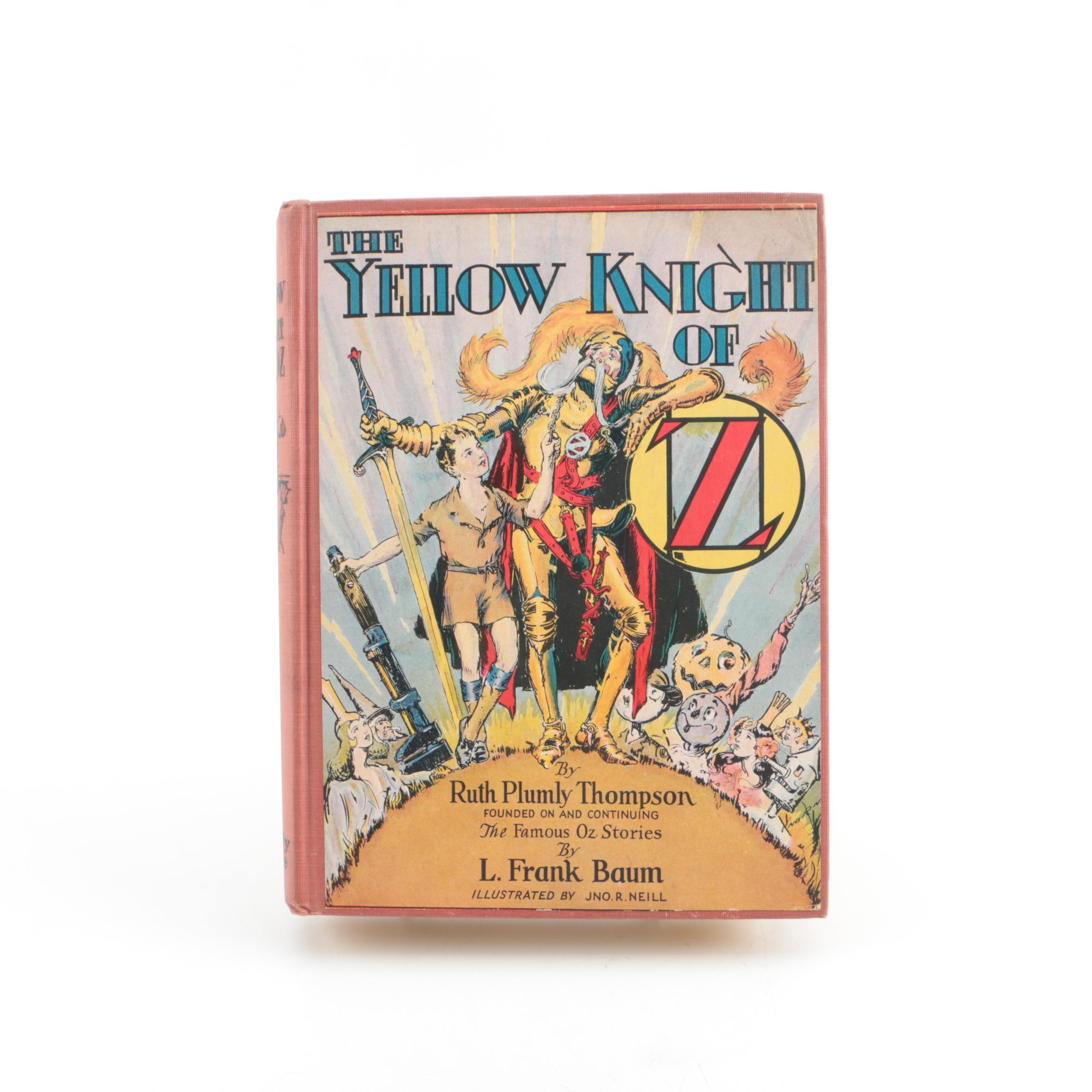 """1930 """"The Yellow Knight of Oz"""" by Ruth Plumly Thompson"""
