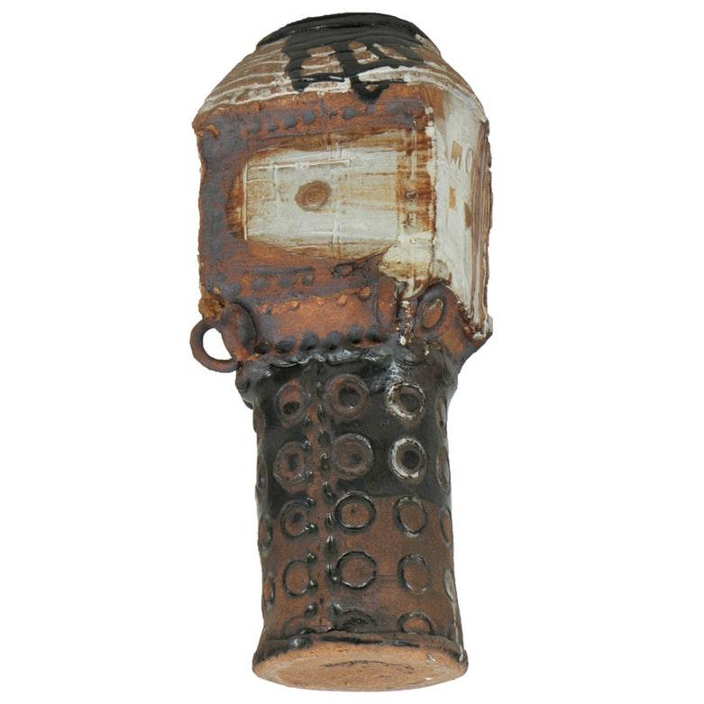 1966 Coil Built Stoneware Vessel