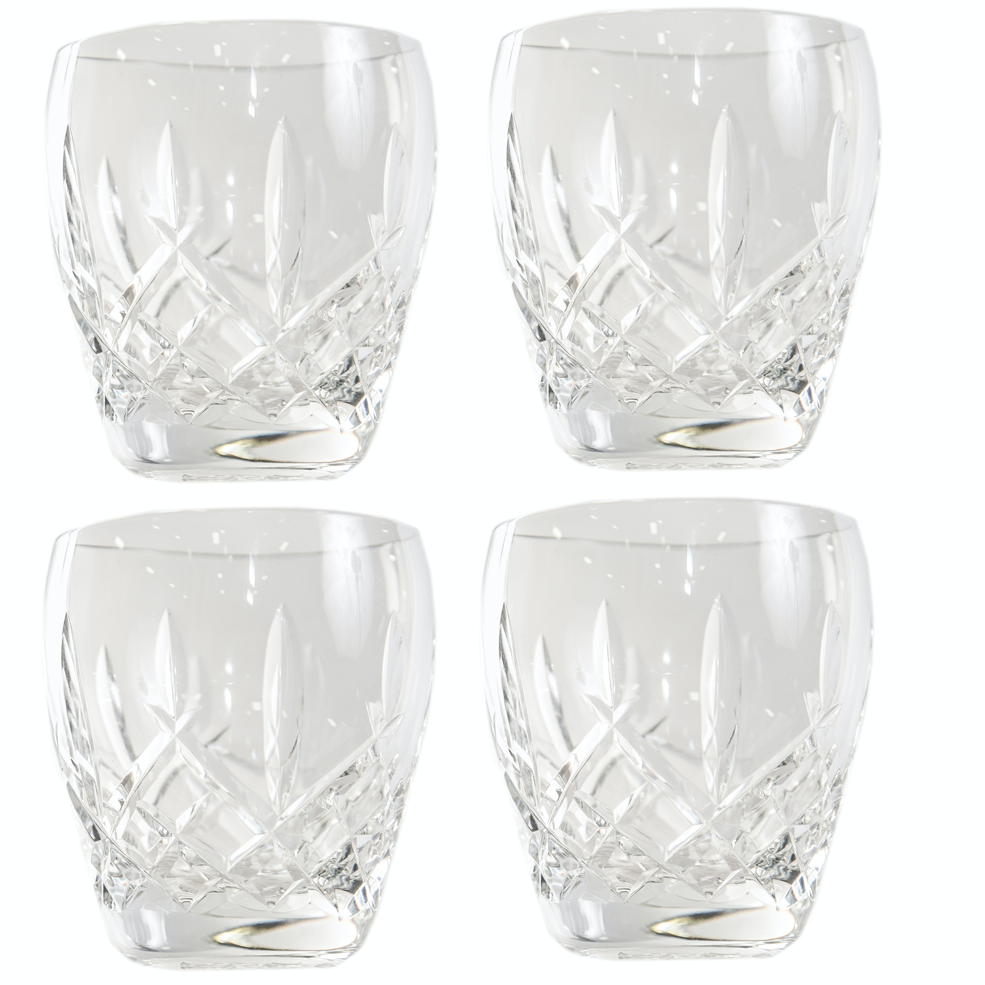 """Waterford Crystal """"Araglin"""" Old Fashioned Glasses"""