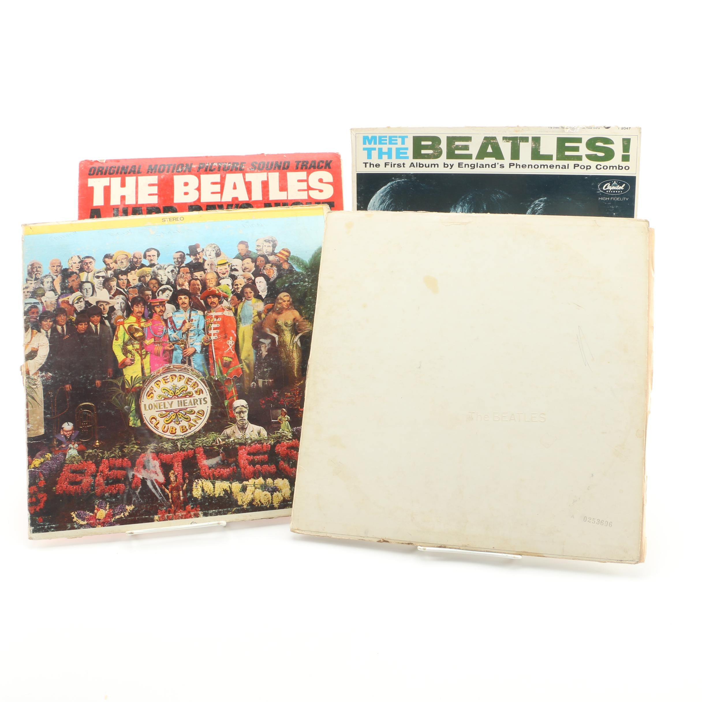 "The Beatles Albums Featuring ""Sgt. Pepper's Lonely Hearts Club Band"""