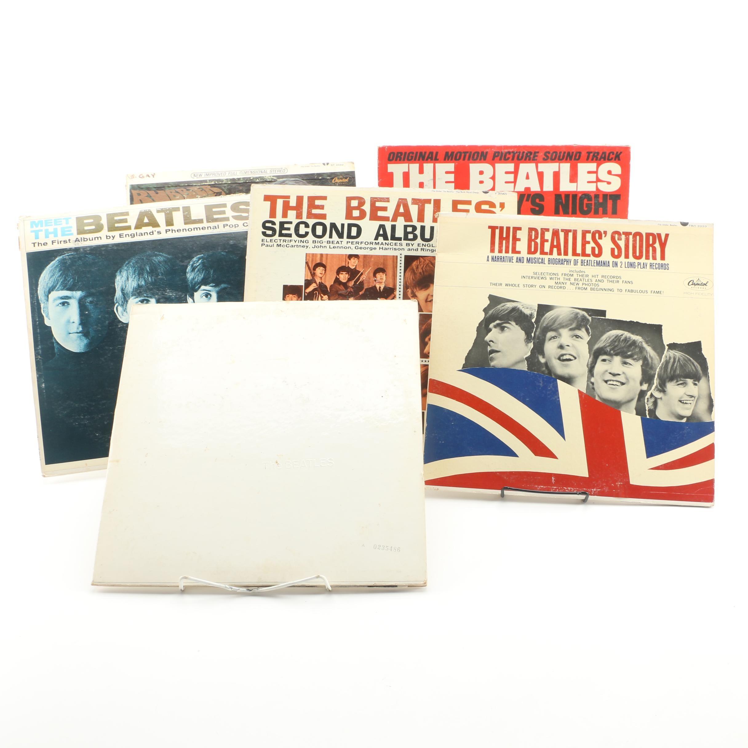 """The Beatles Albums Featuring """"White Album"""""""