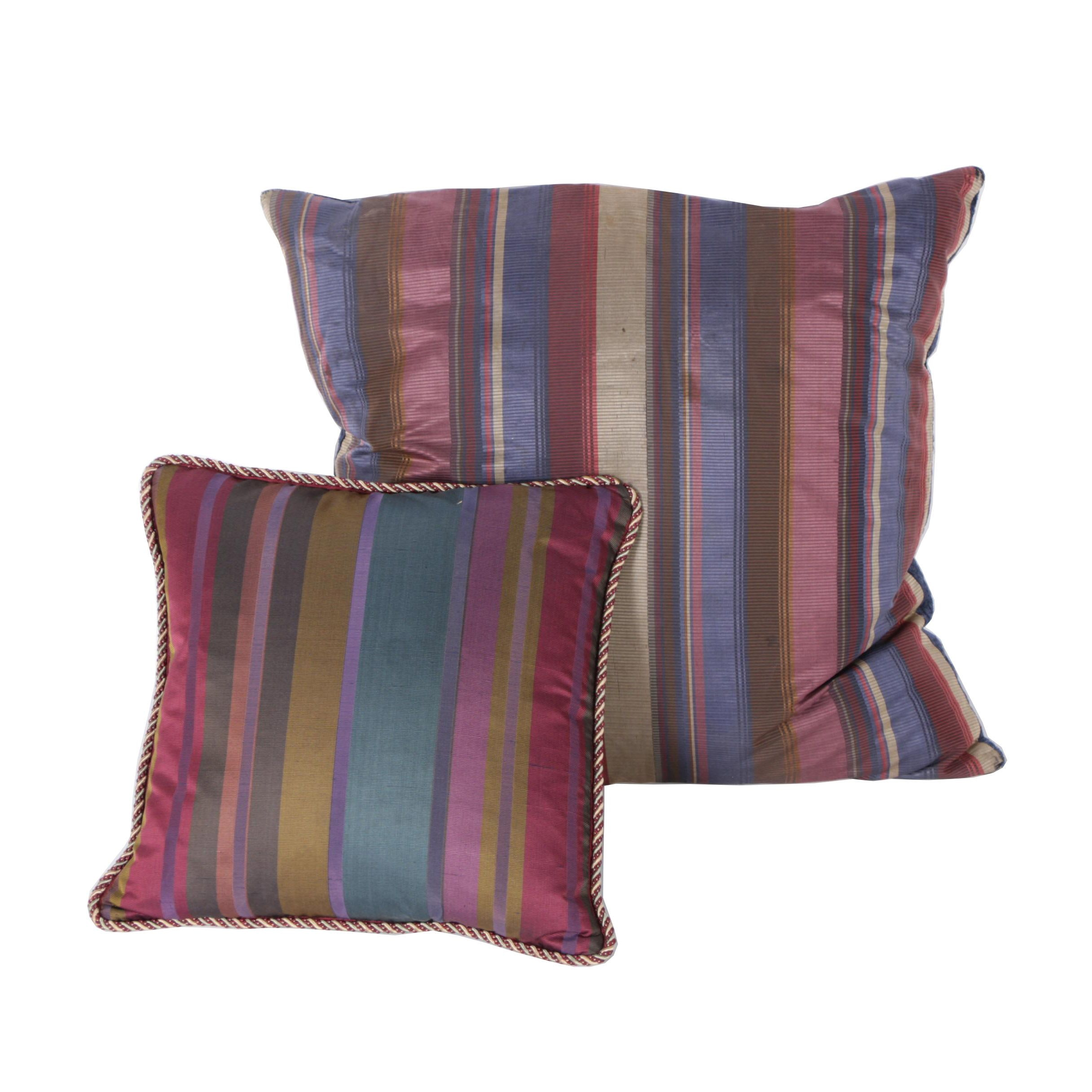 Striped Accent Pillows