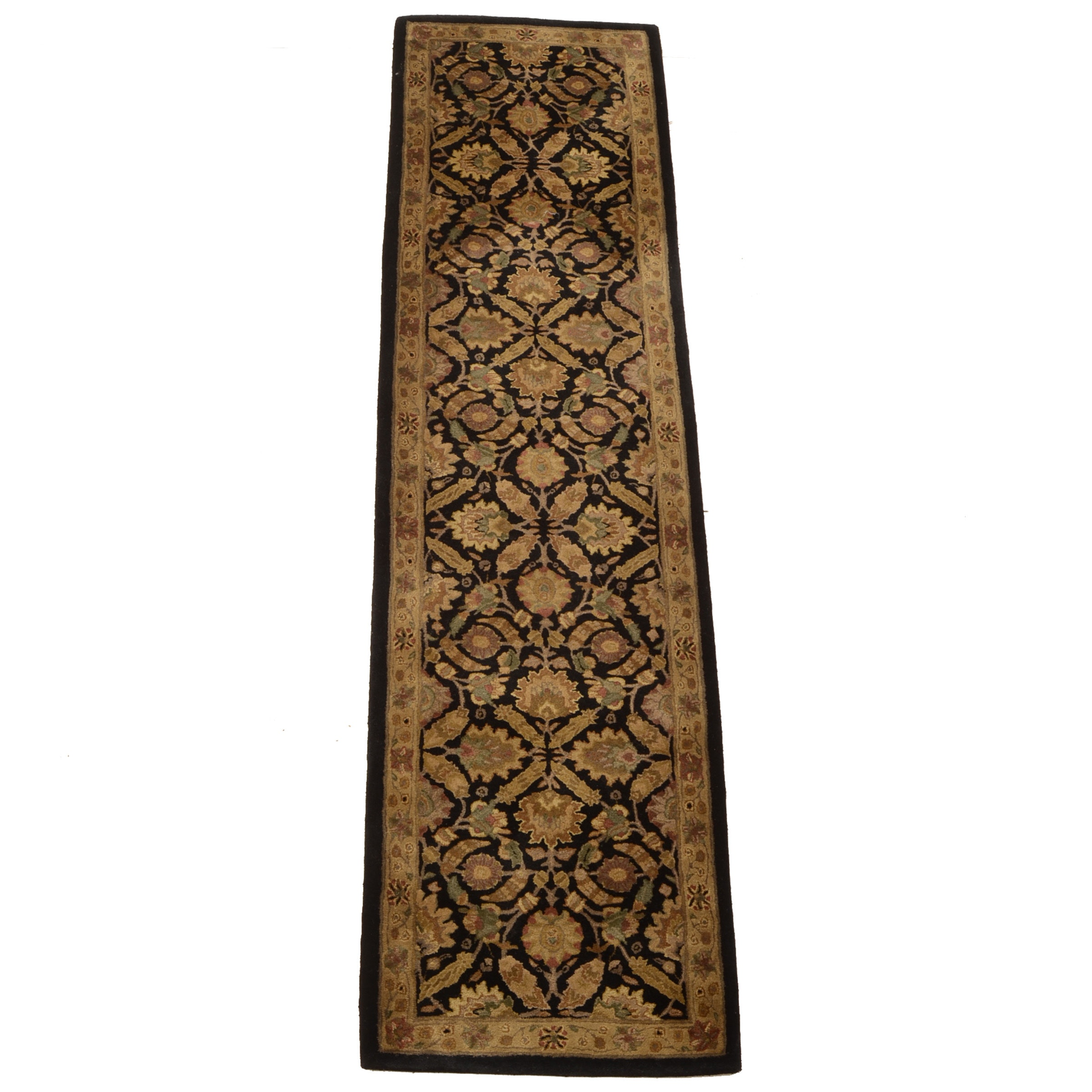 "Tufted Indian ""Polonaise"" Carpet Runner by Capel"