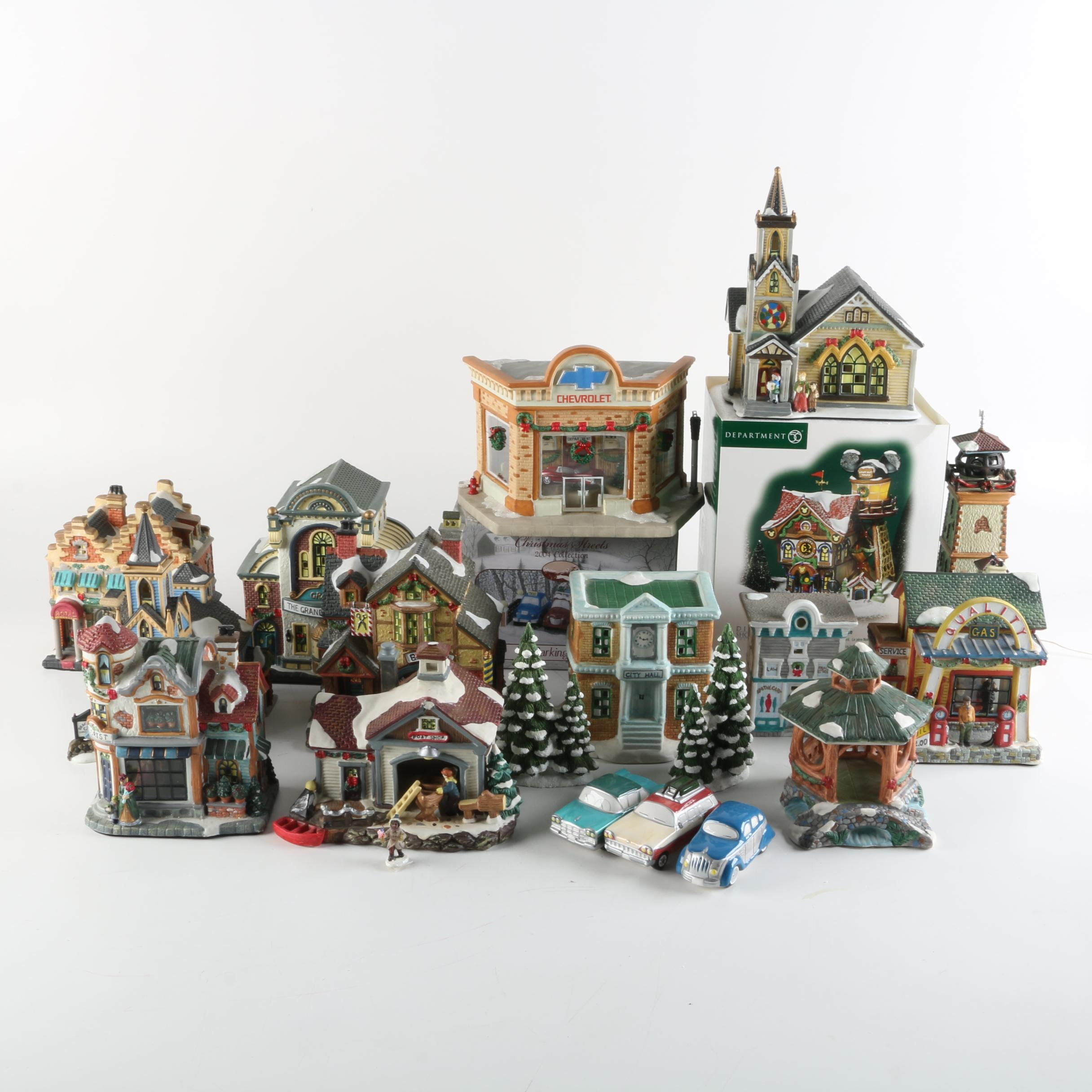 Winter Village Buildings and Accessories