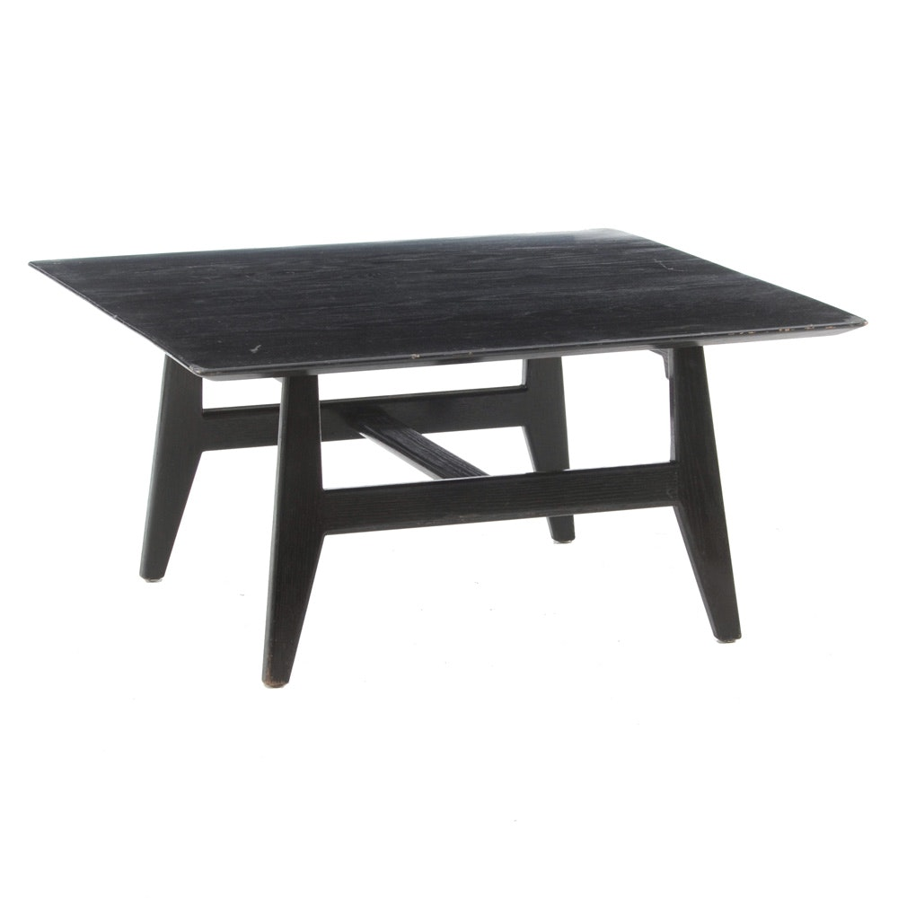 Jens Risom Black Ash End Table