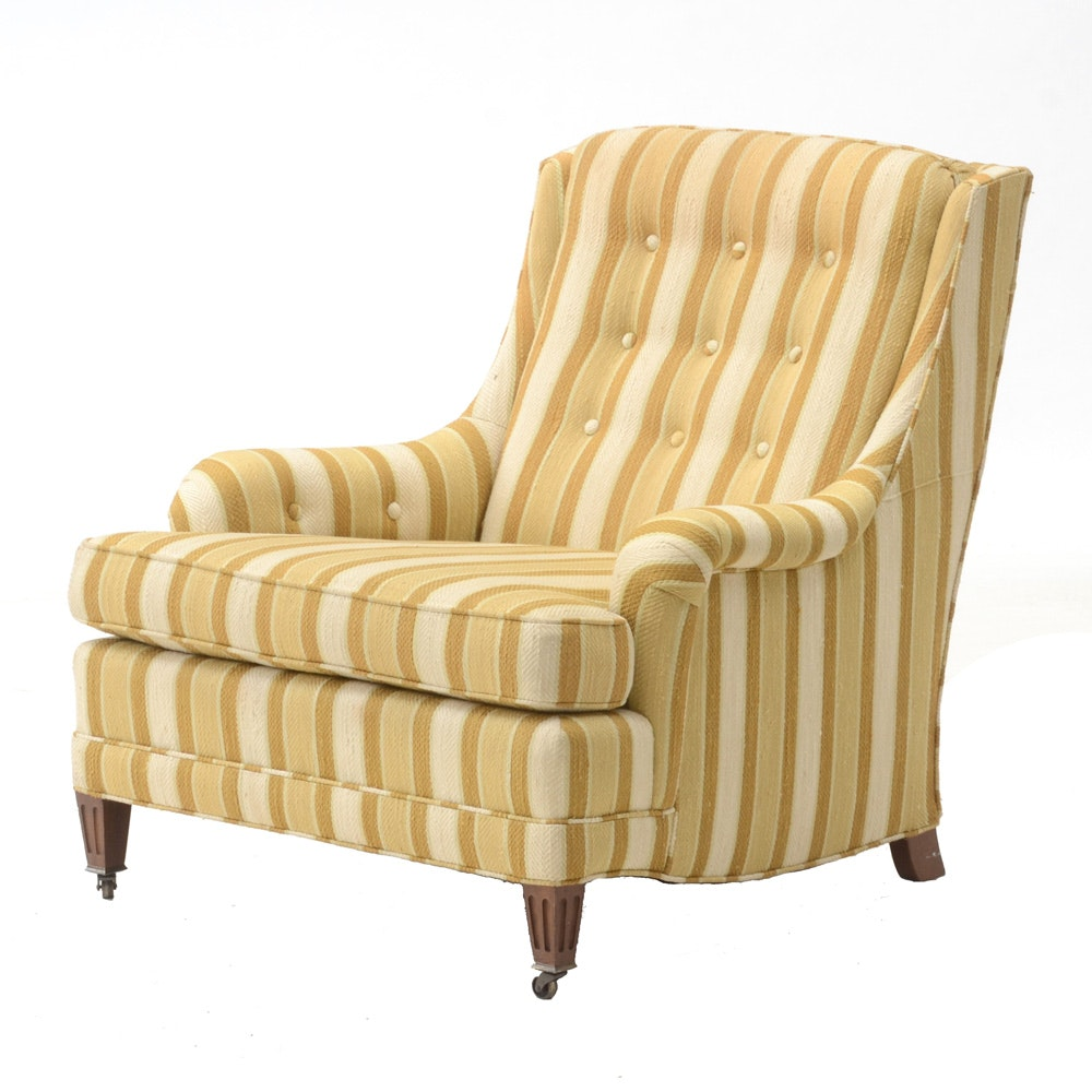 Vintage Upholstered Arm Chair by Leugers Furniture