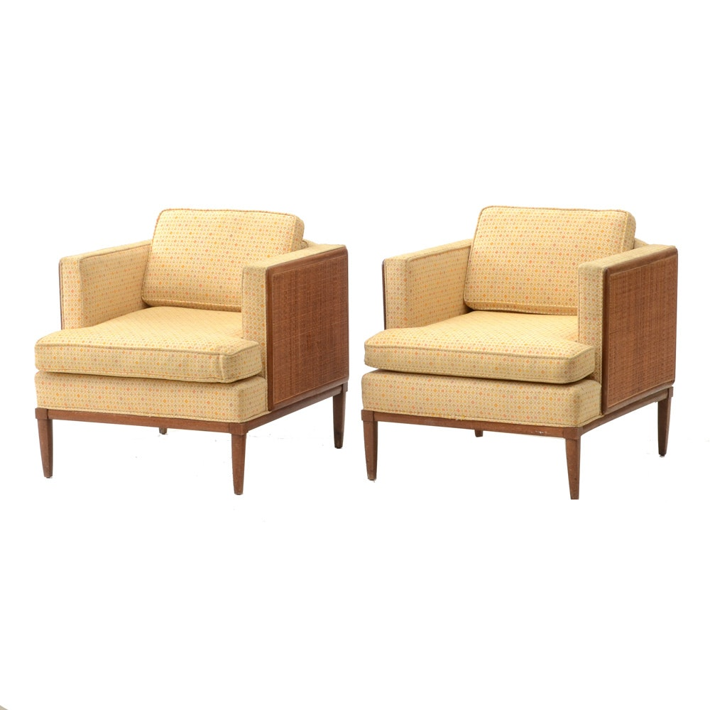 Pair of Mid Century Modern Club Chairs