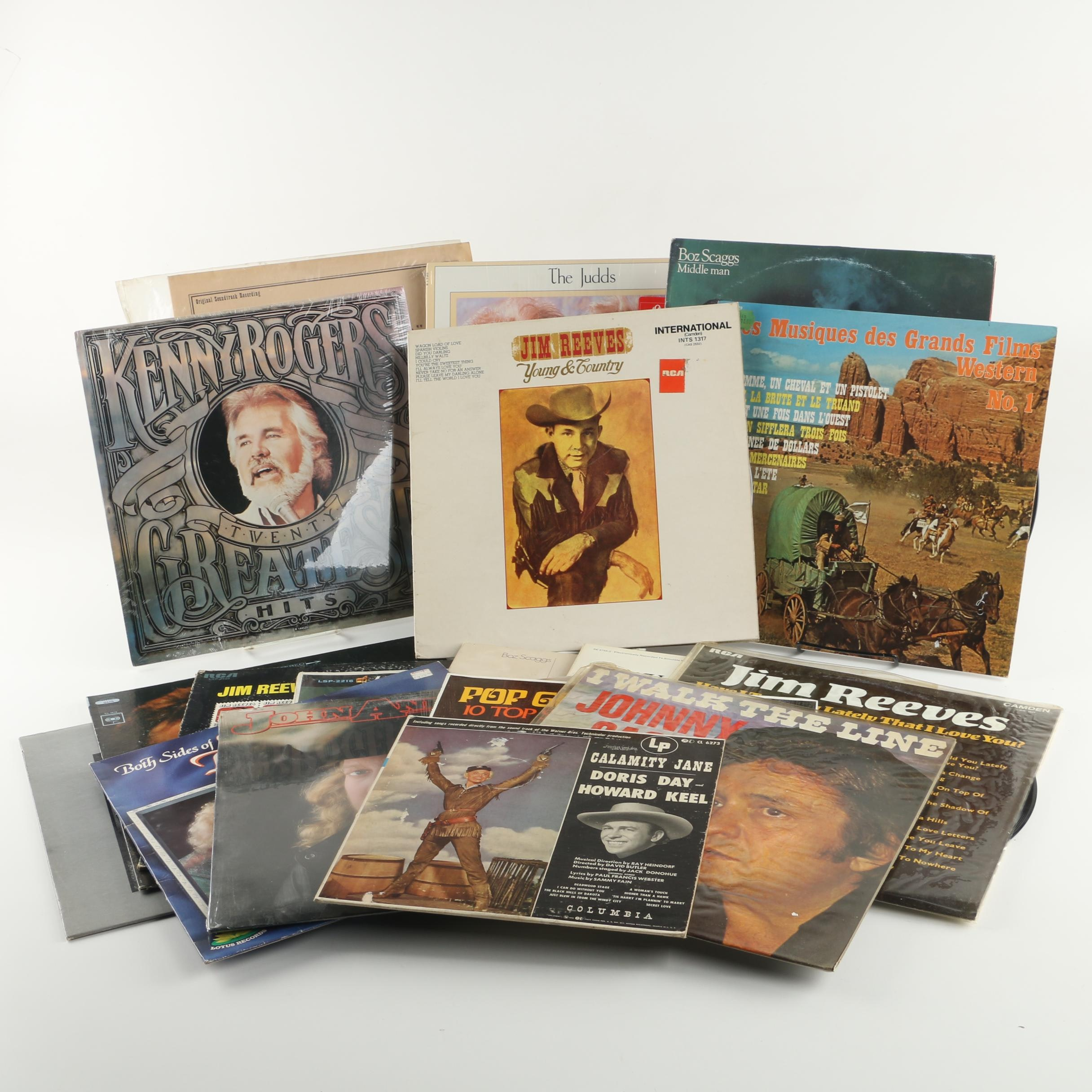Country Albums Featuring Johnny Cash, Dolly Parton, Hank Williams and More