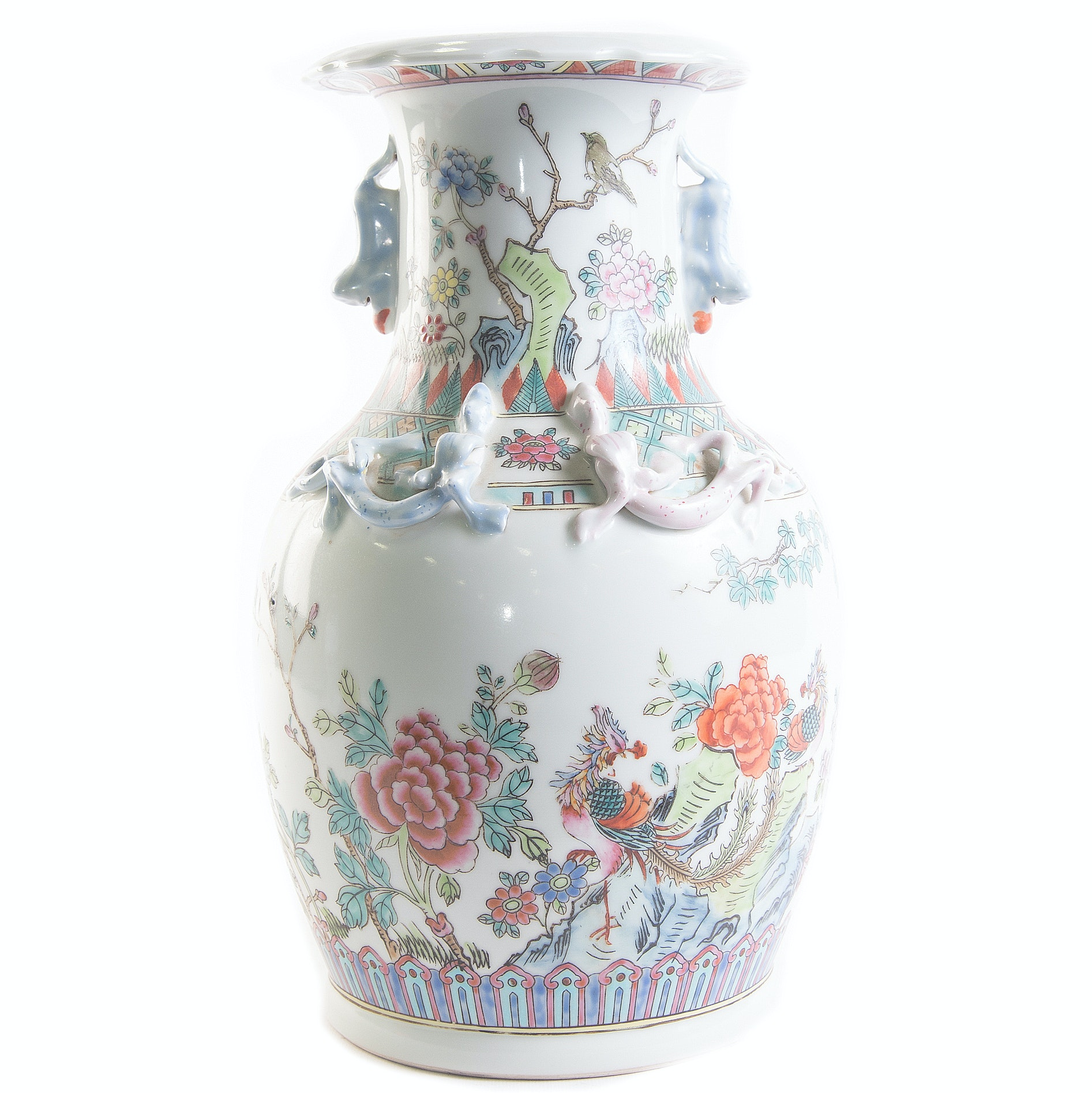 Hand Painted Chinese Ceramic Vase
