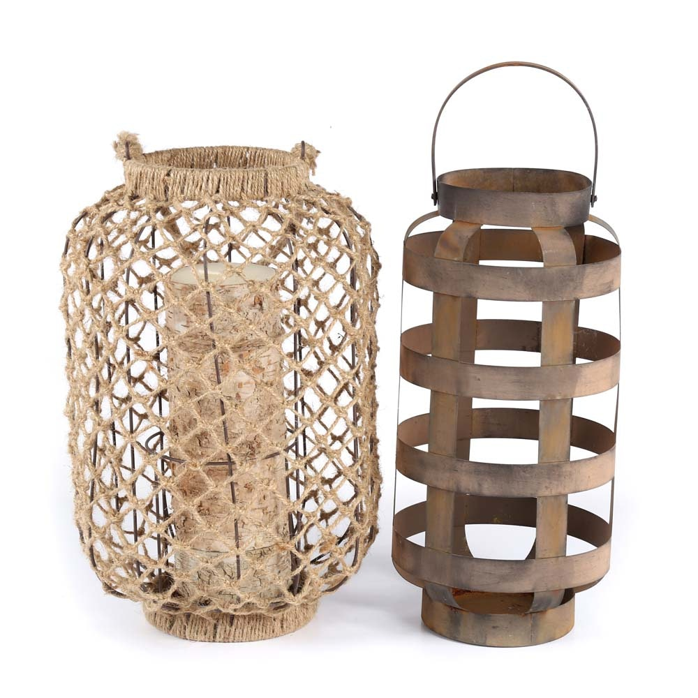 Collection of Rustic Lanterns