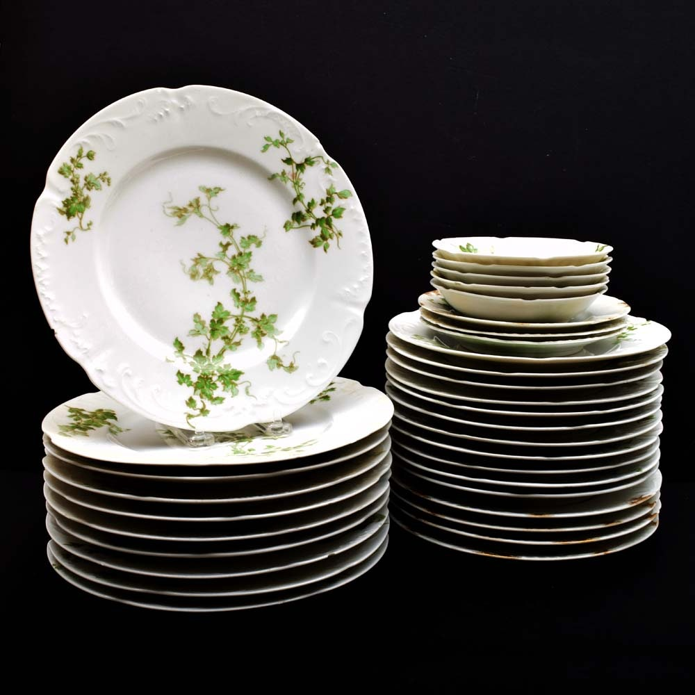 Collection of Dinnerware including L. Bernardaud & Co. Limoges