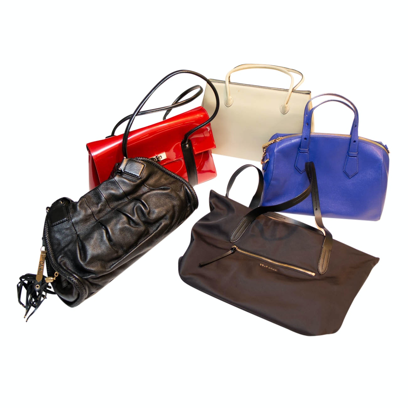 Handbag Collection Including Cole Haan, Beijo, Charles & Keith and Vittadini
