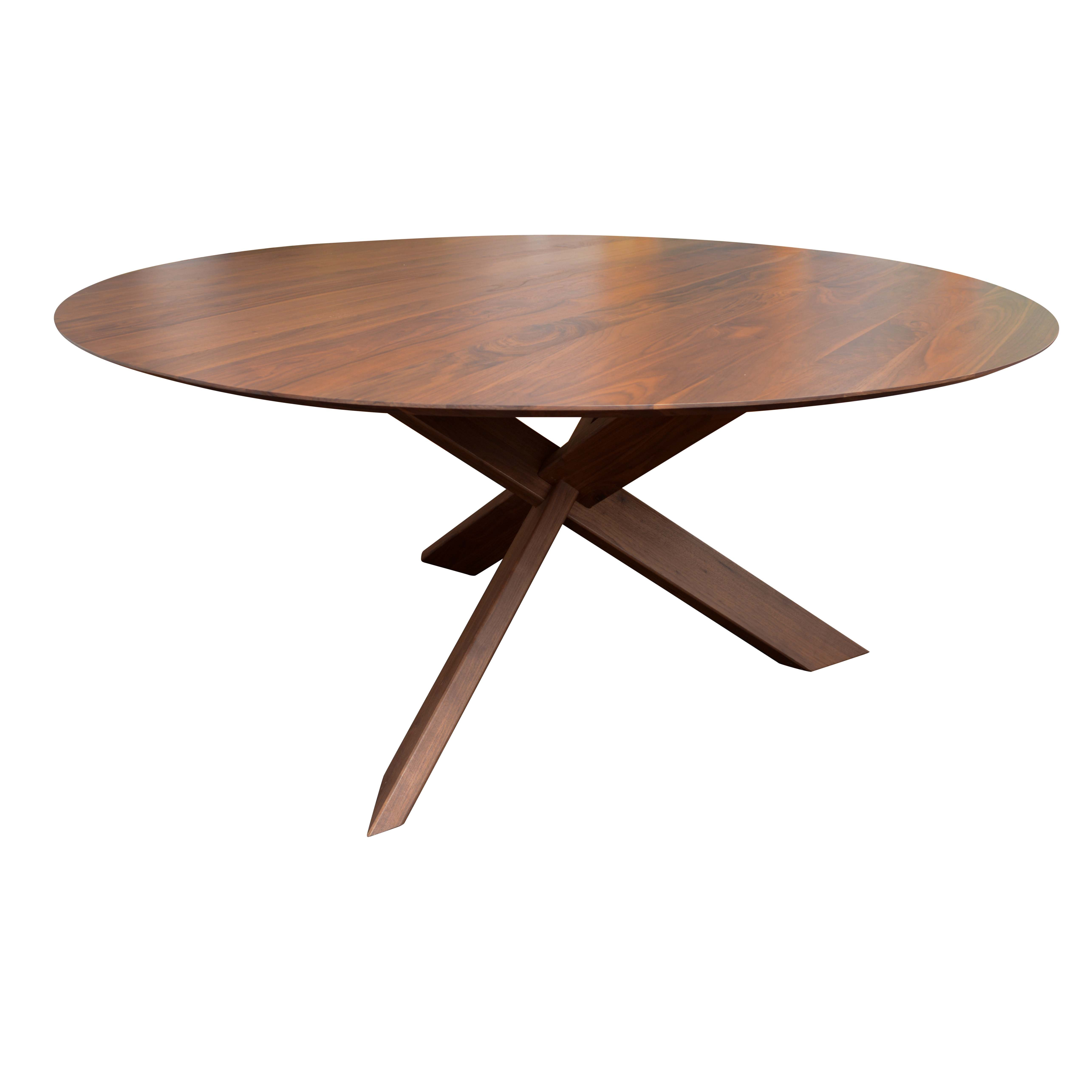 Mid Century Modern Style Dining Table by Crate & Barrel
