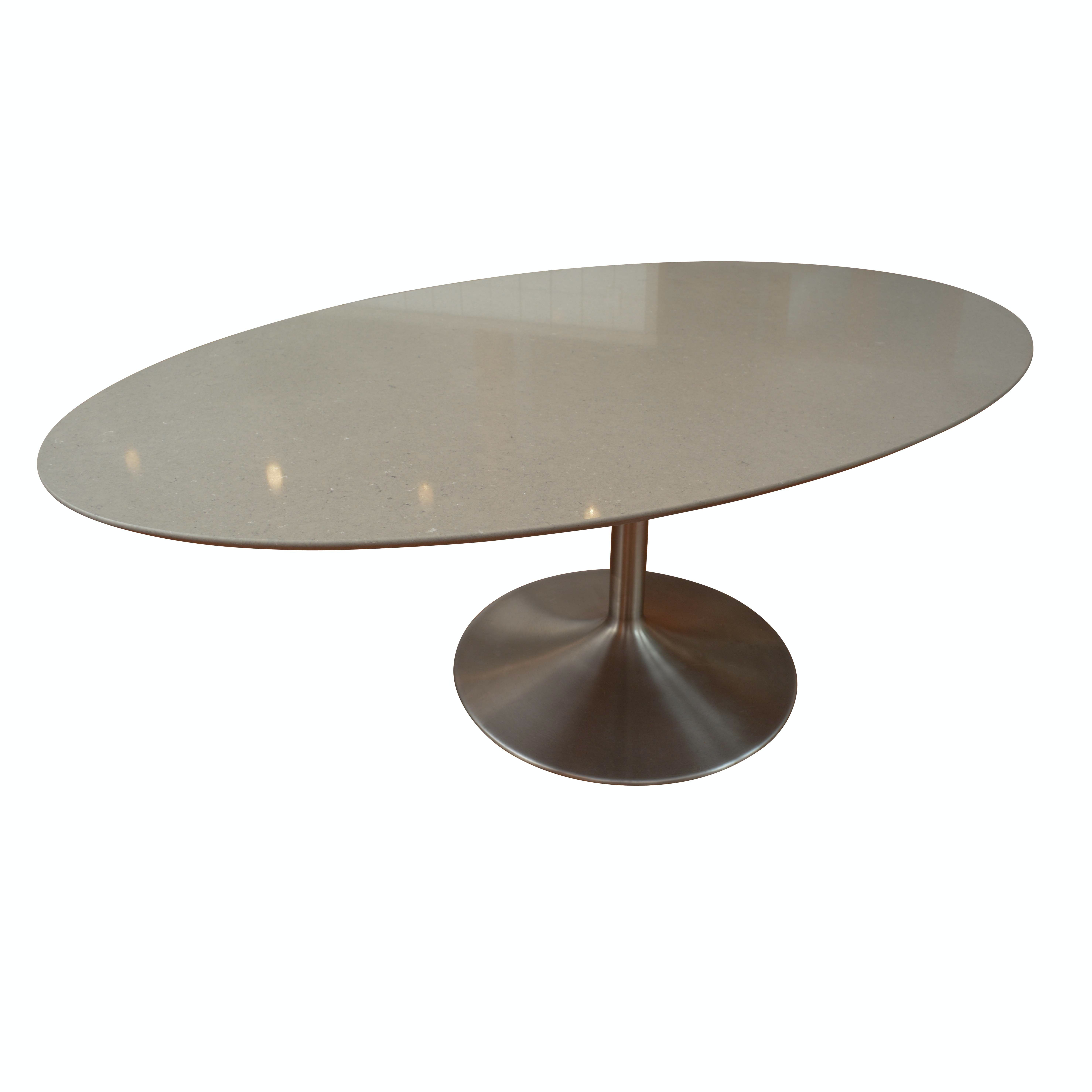Stone Top Tulip Style Dining Table