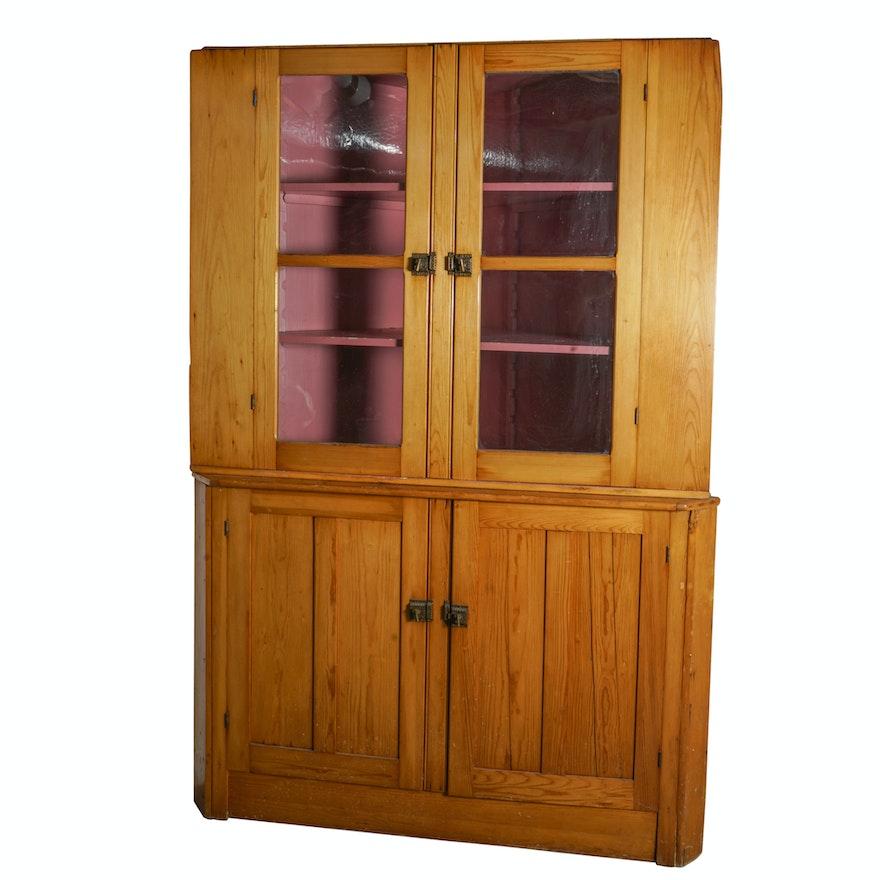 Antique Corner Cabinet ... - Antique Corner Cabinet