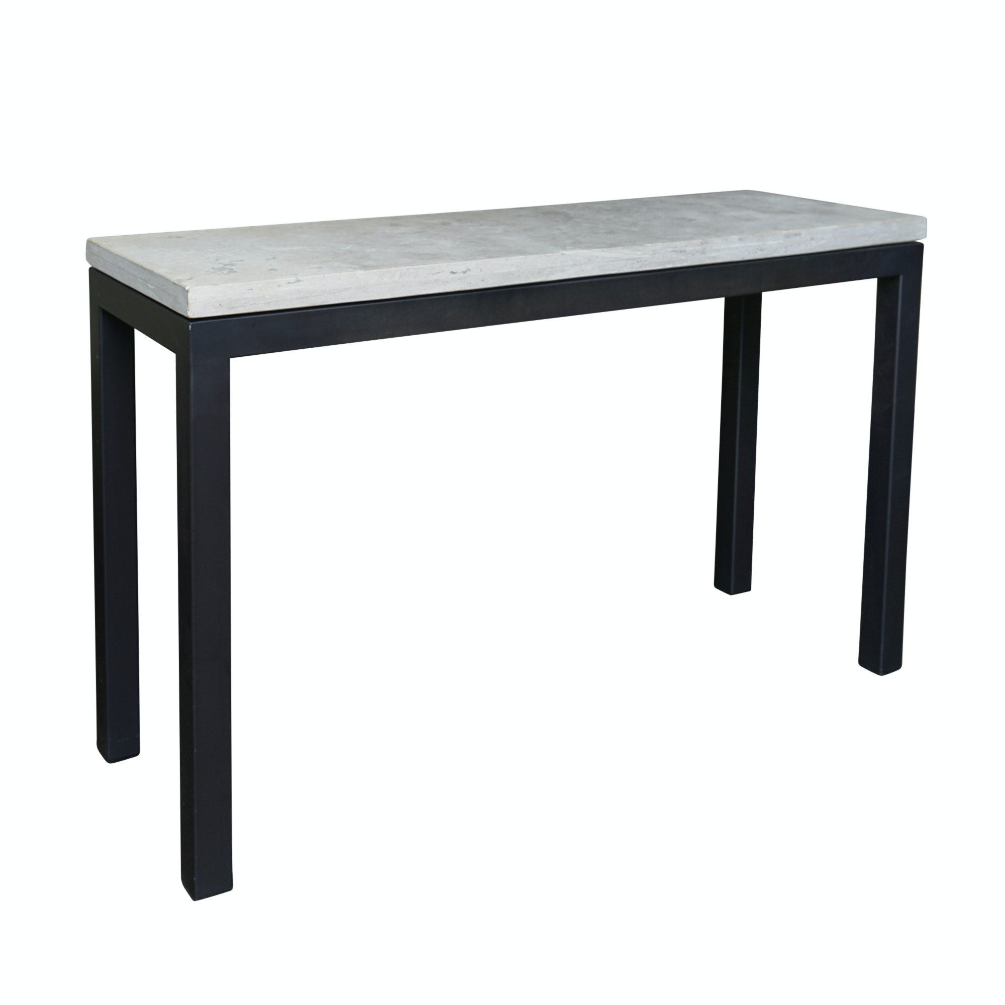 Contemporary Marble Top Console Table