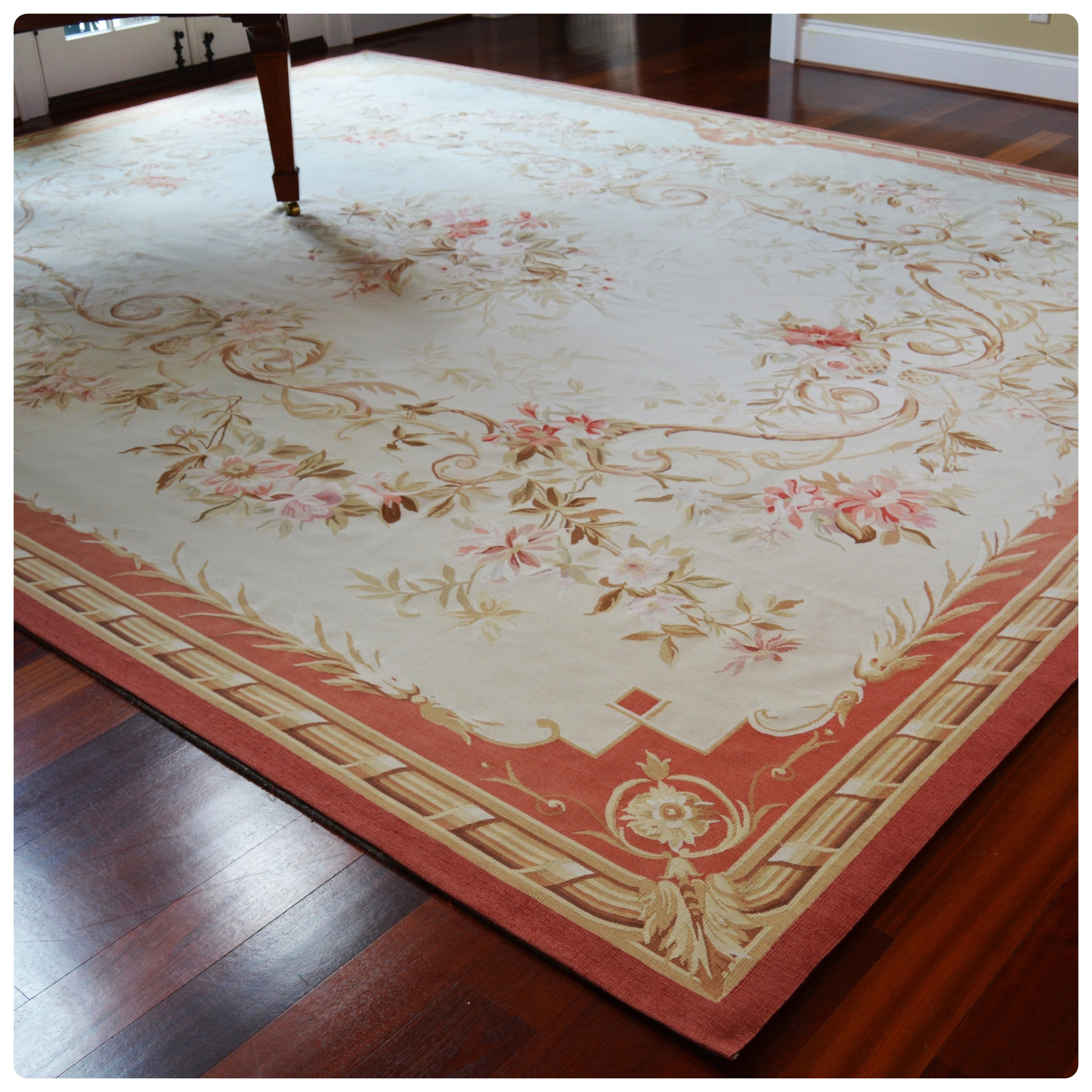 Needlepoint Peel & Company Wool Area Rug