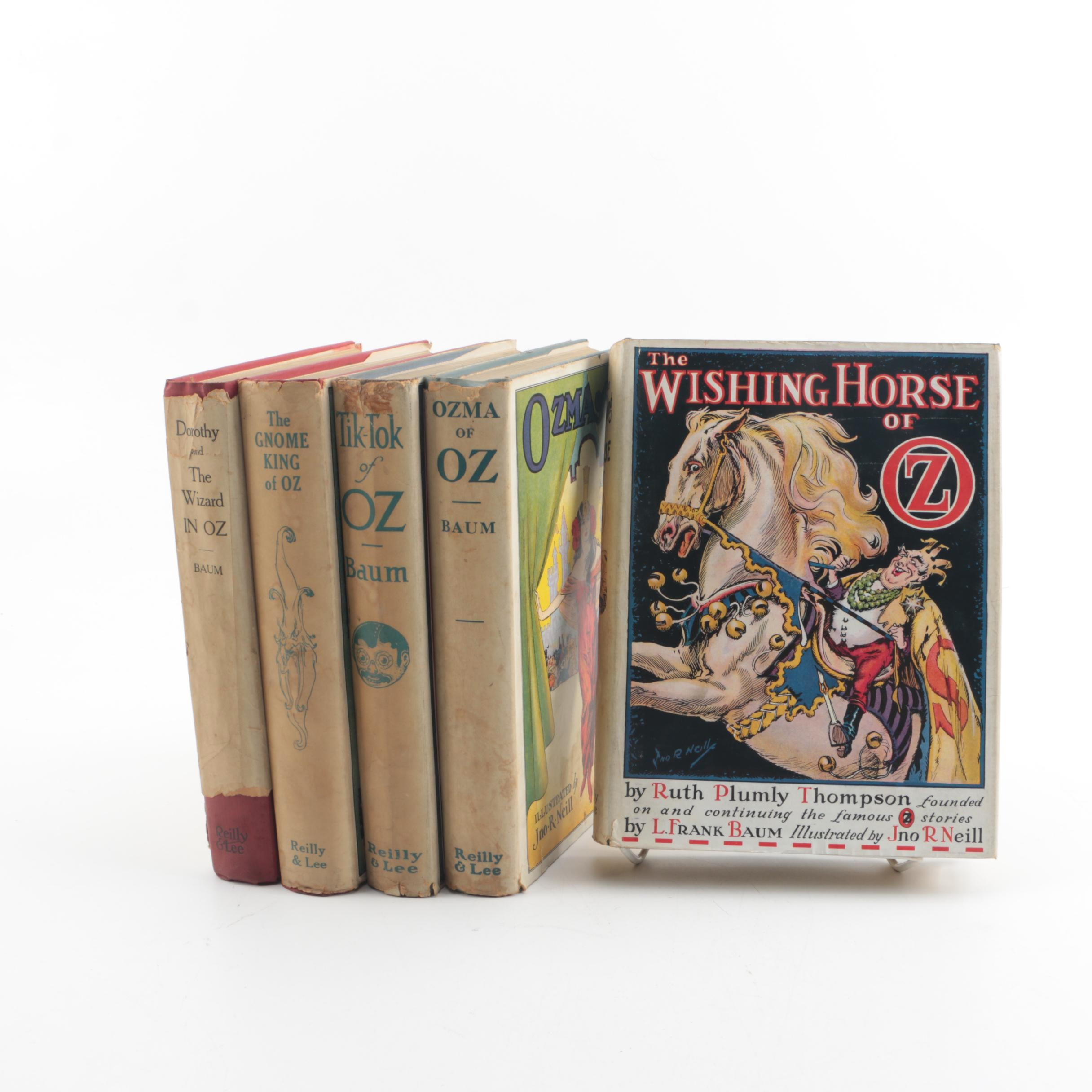 """Vintage """"Oz"""" Books by L. Frank Baum and Ruth Plumly Thompson"""