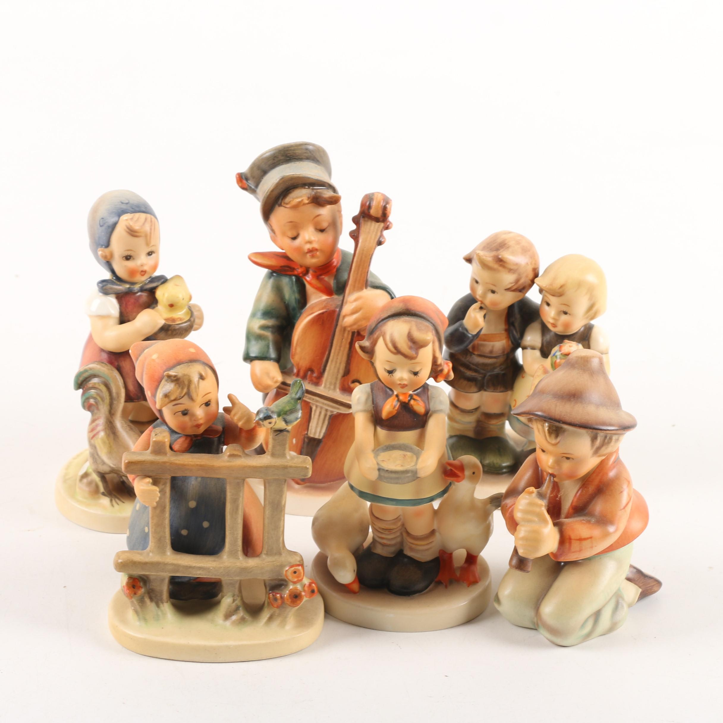 """Hummel Figurines, """"Signs of Spring"""", """"Be Patient"""", """"Feeding Time"""" and Others"""