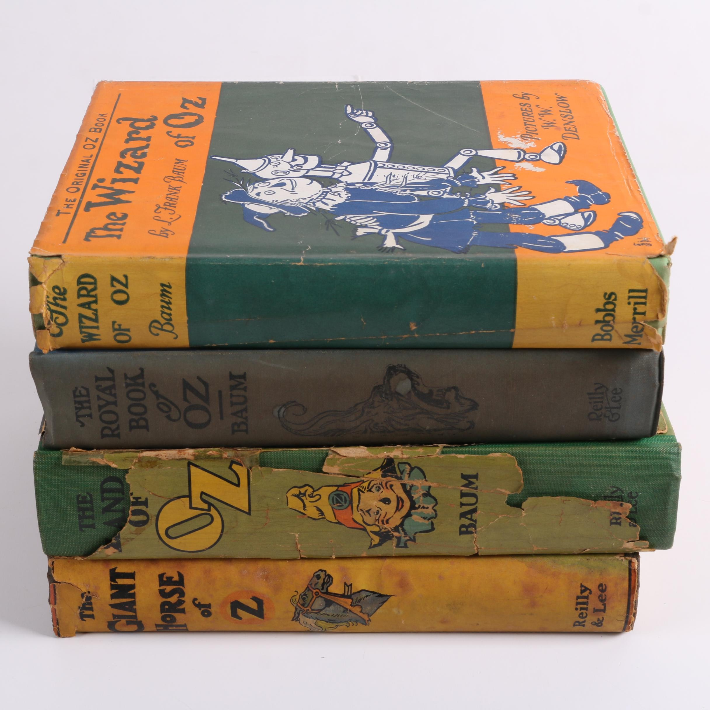 """Oz"" Books by L. Frank Baum & Ruth Plumly Thompson"