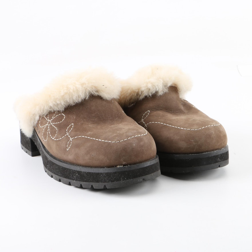 d9f39192a61 Women's UGG Australia Shearling Lined Clogs
