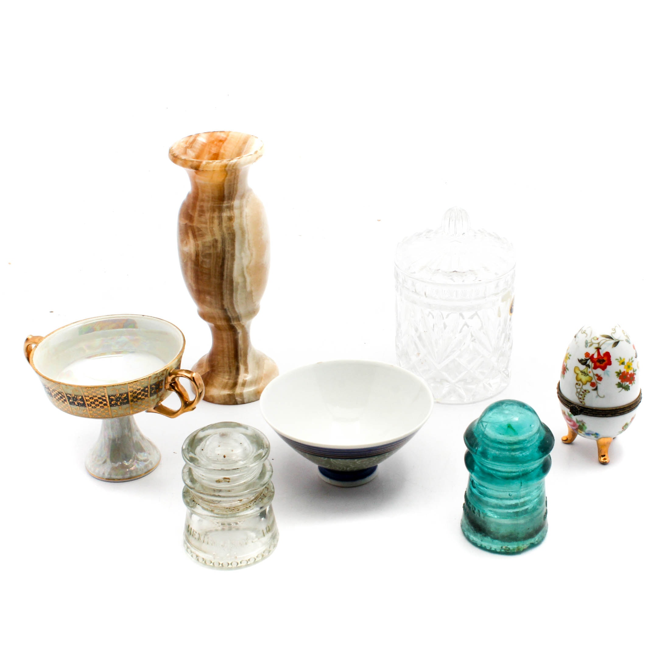 Glass and Ceramic Home Decor Collection