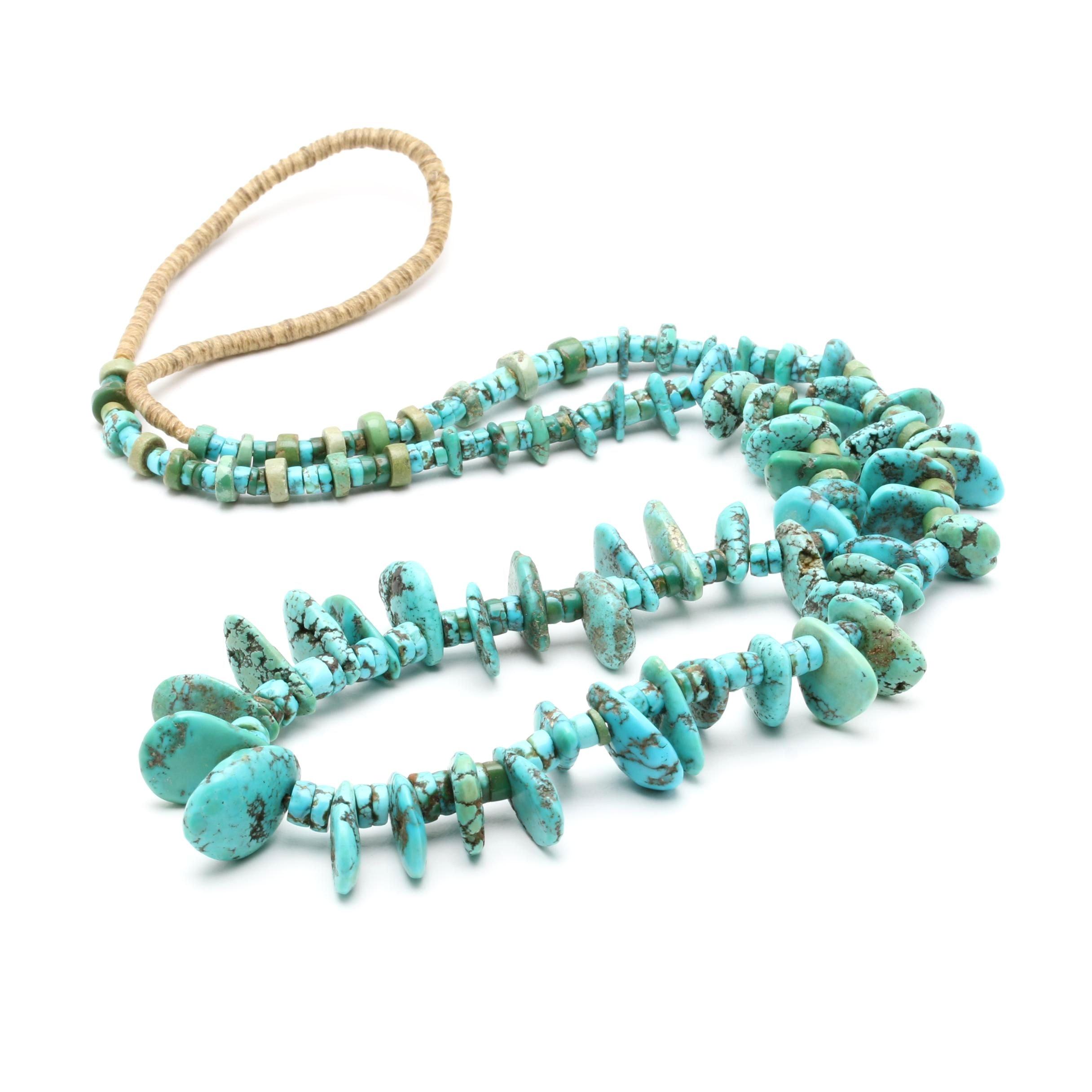 Southwest Style Turquoise Necklace