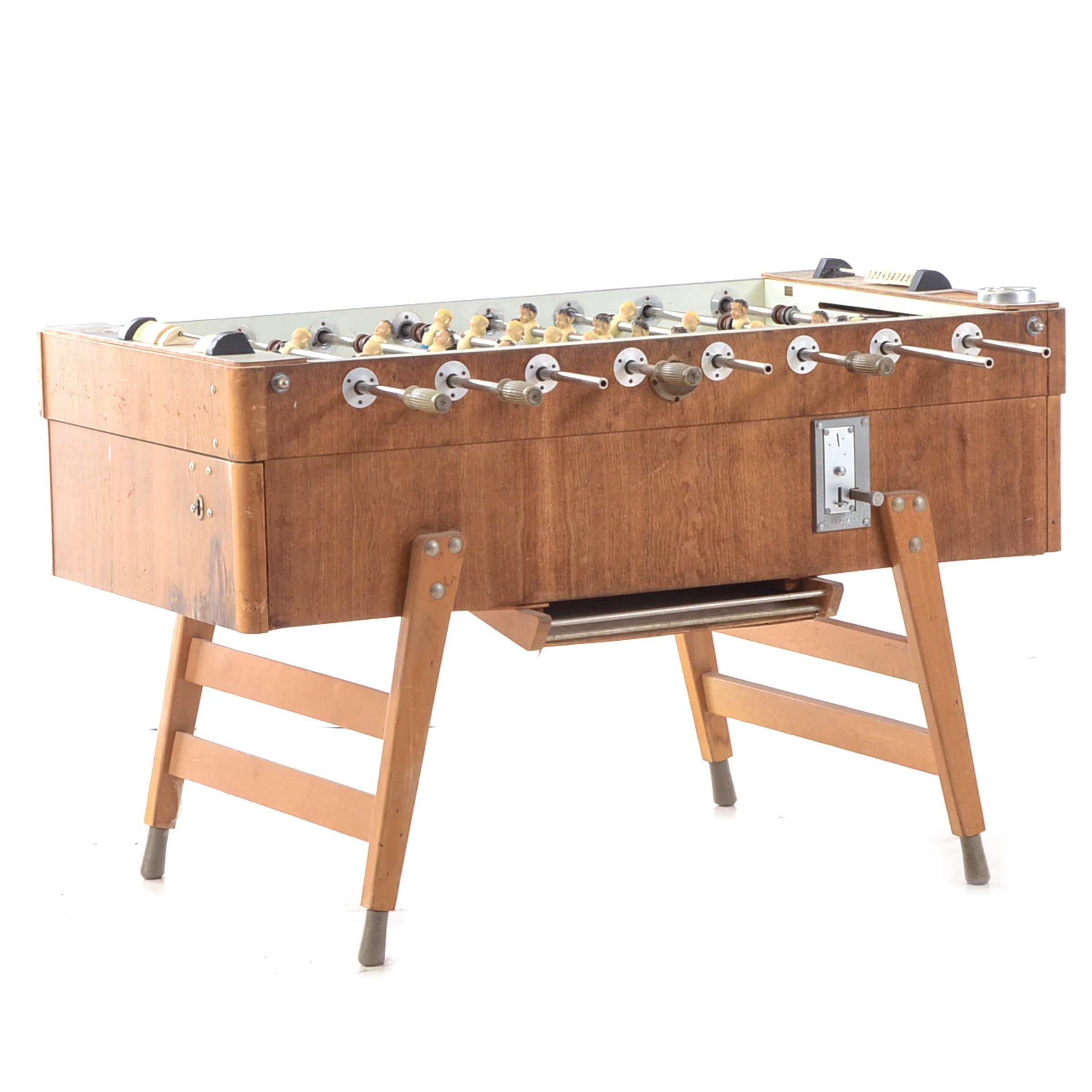 Mid Century Modern Foosball Table
