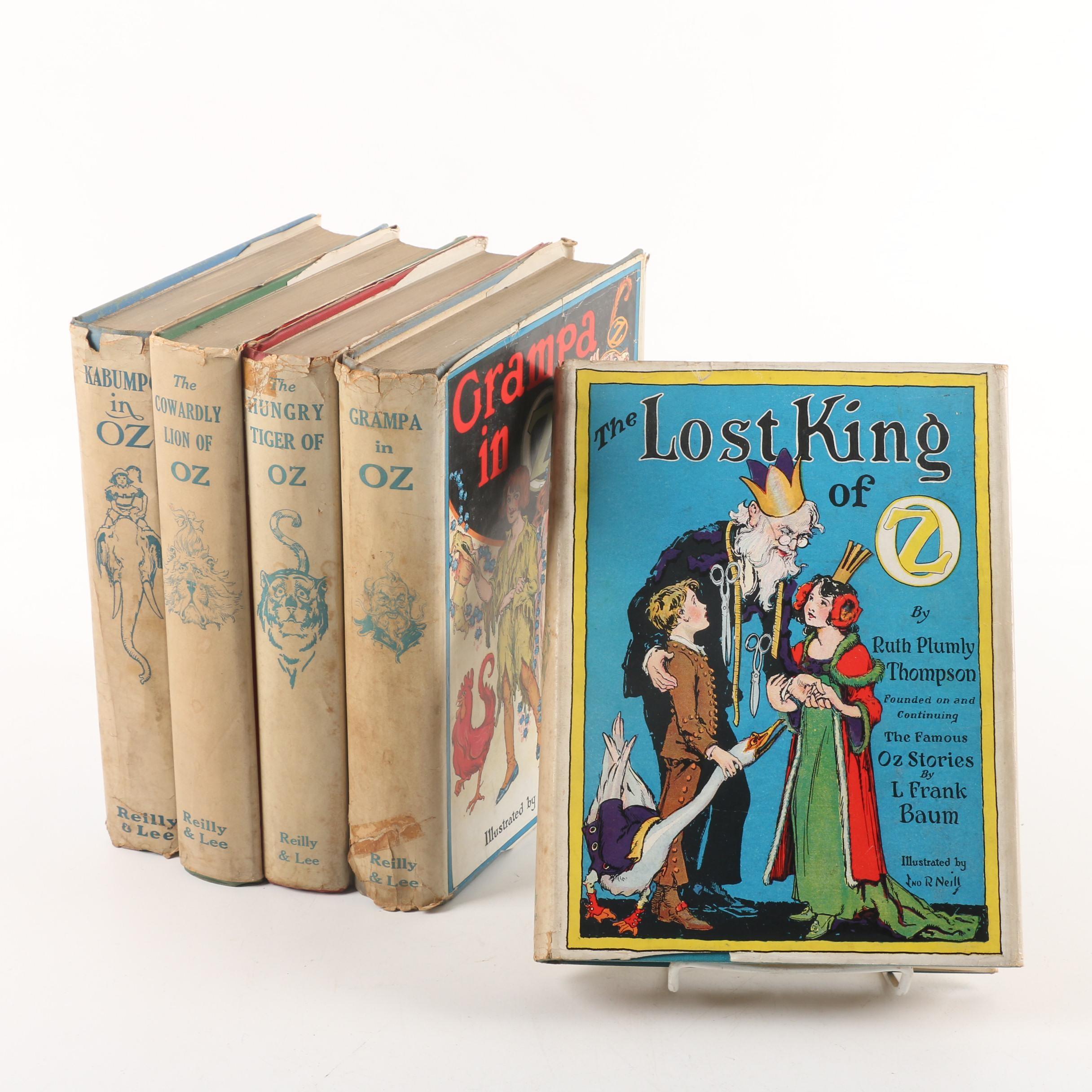 "Ruth Plumly Thompson ""Oz"" Books"