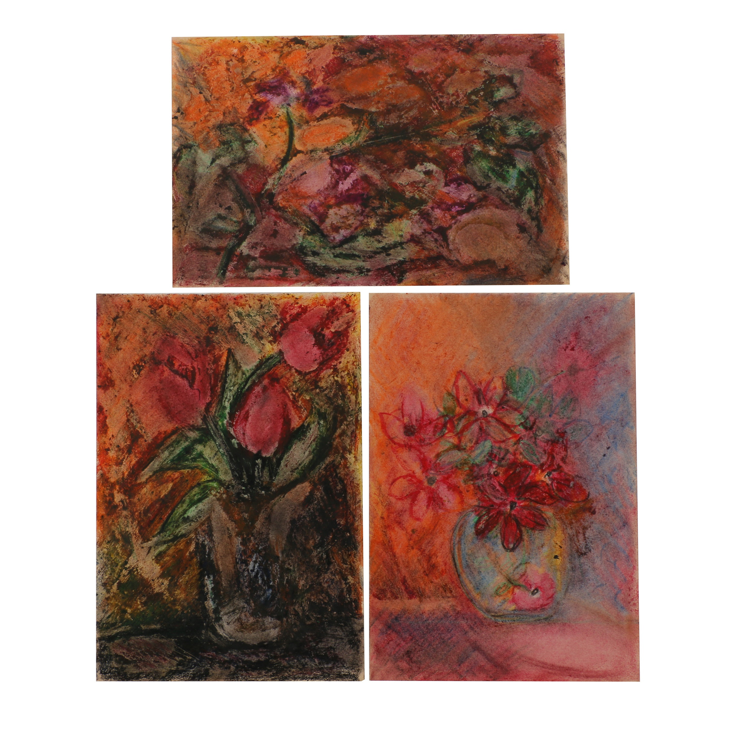 Louis Papp Pastel Drawings