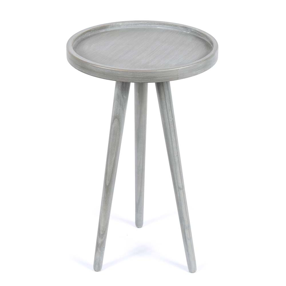 Modern Grey Accent Table