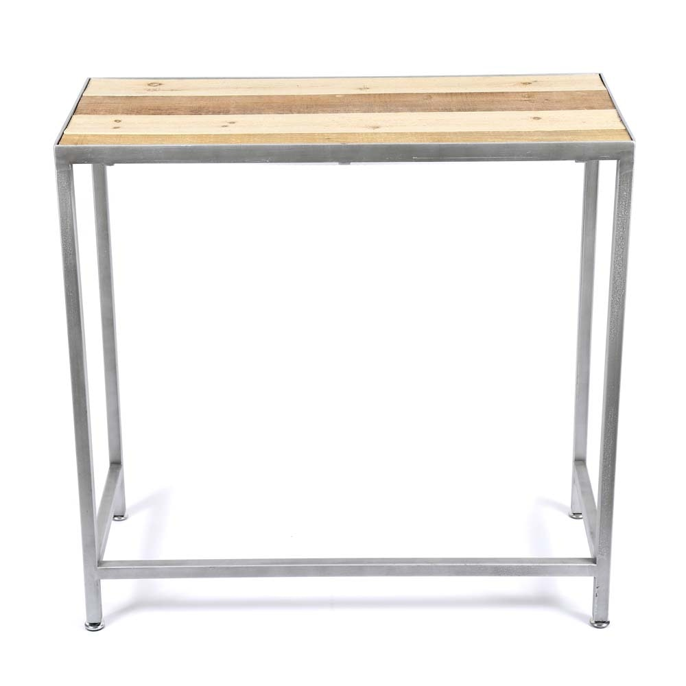 Contemporary Rustic Accent Table