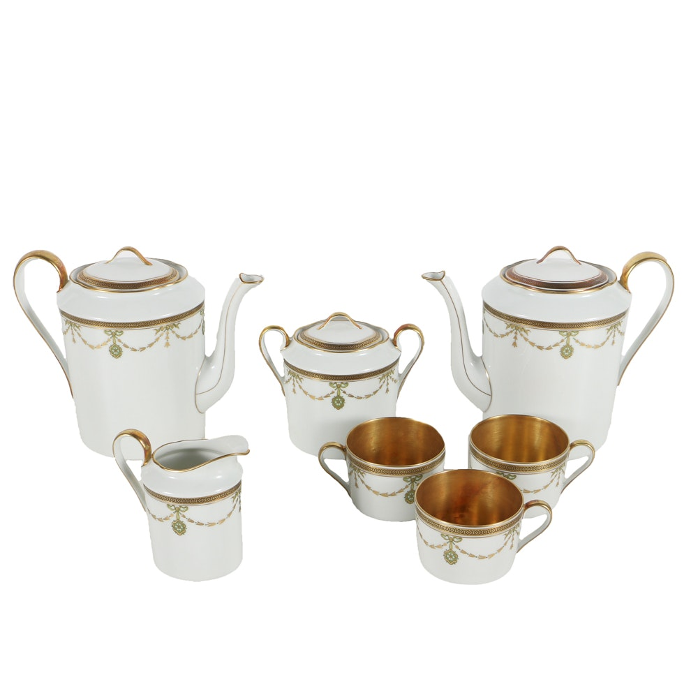 "Royal Limoge, ""Iena"" Tea Set"