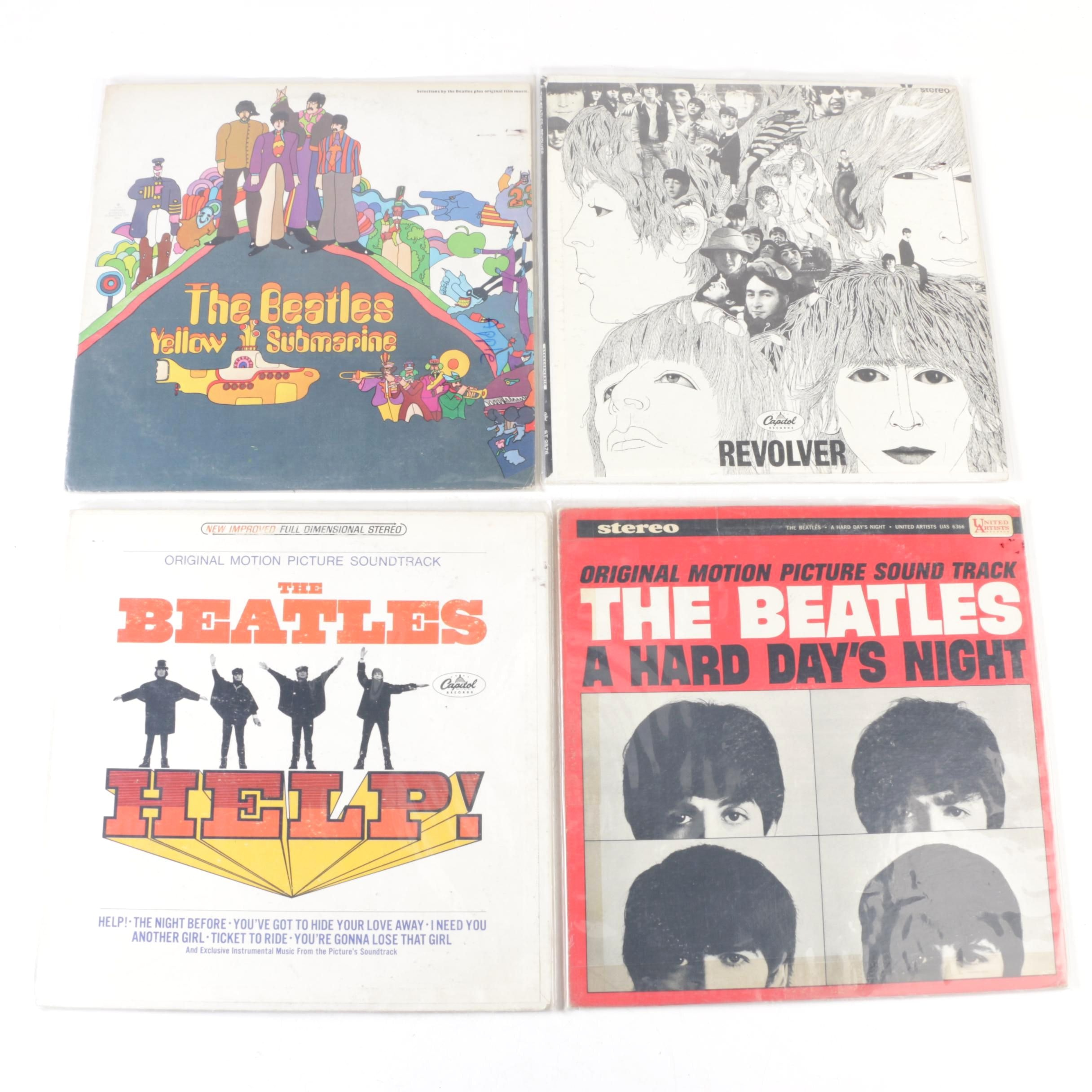 """The Beatles Early 1970s Record Pressings Including """"A Hard Day's Night"""" Misprint"""