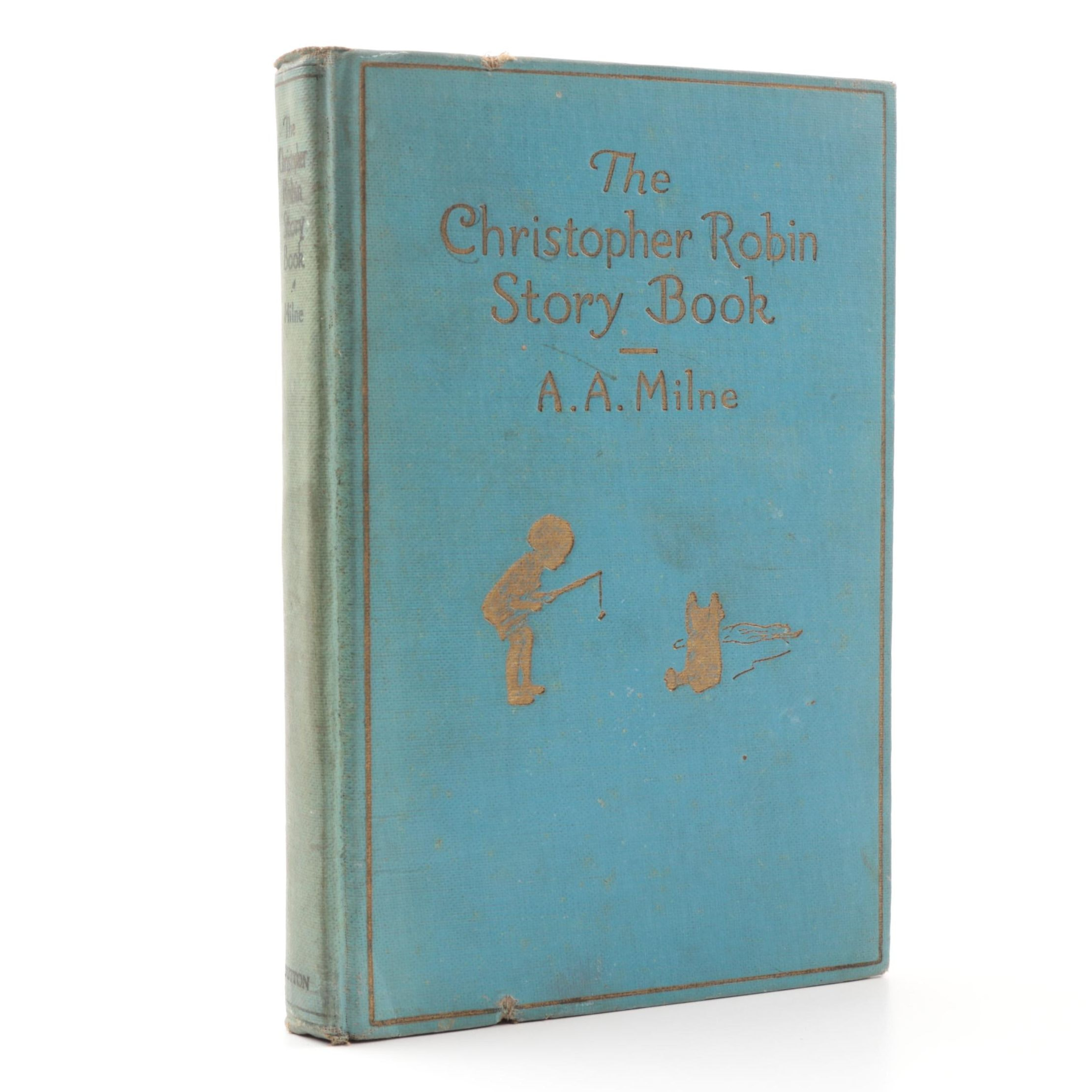 """1929 First American Edition """"The Christopher Robin Story Book"""" by A.A. Milne"""