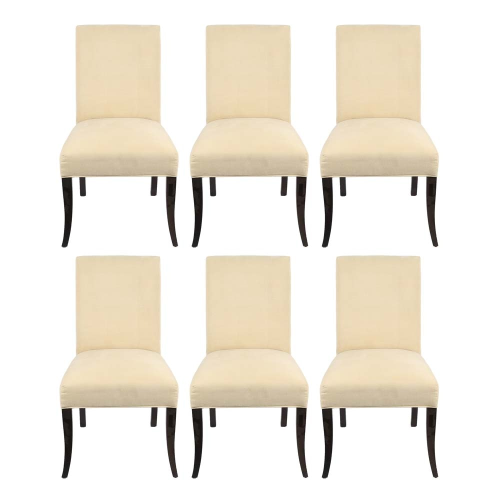 Six Crate & Barrel Dining Chairs
