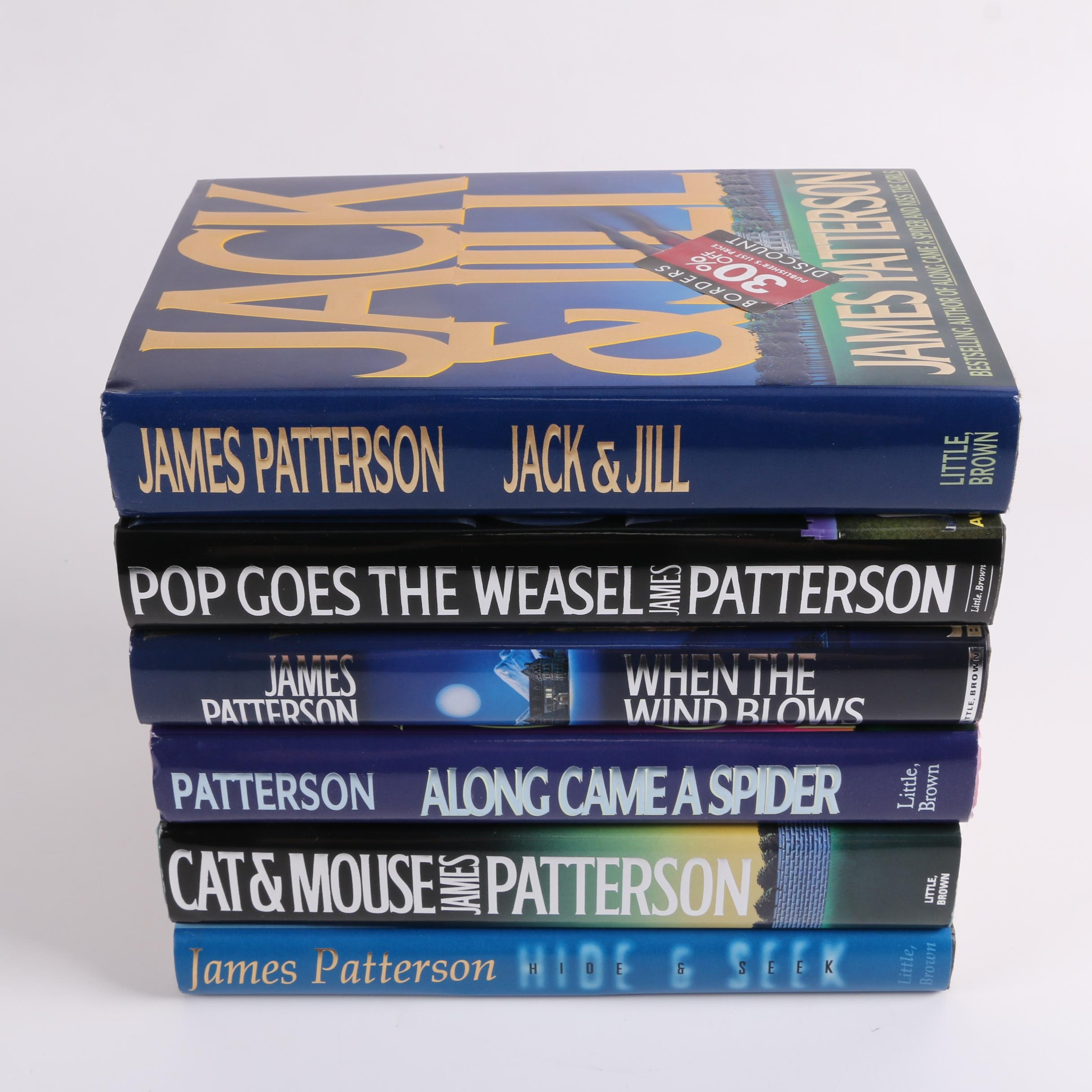 "First Printing Novels by James Patterson Including ""Along Came a Spider"""