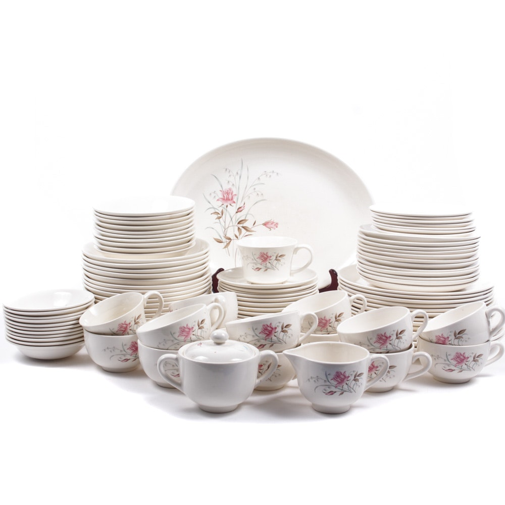 Mid Century Floral Patterned Ceramic Tableware ...  sc 1 st  EBTH.com & Mid Century Floral Patterned Ceramic Tableware : EBTH