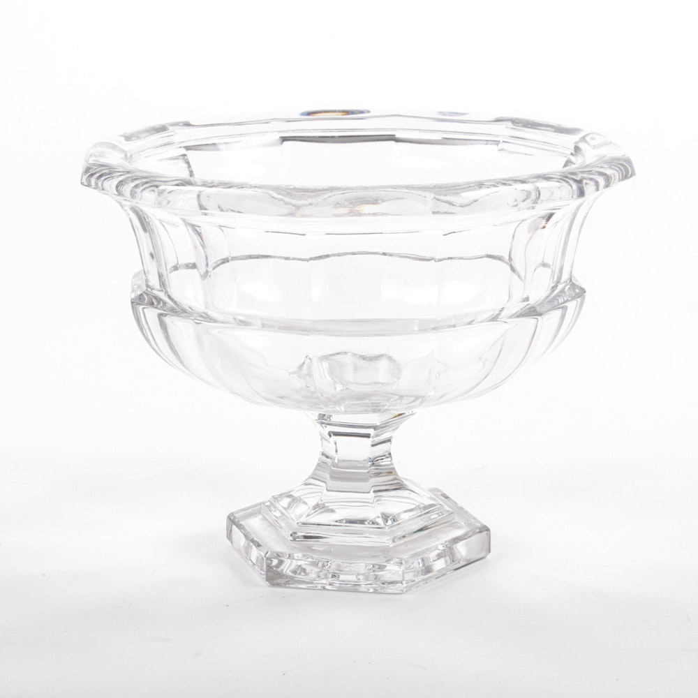 Antique Crystal Compote