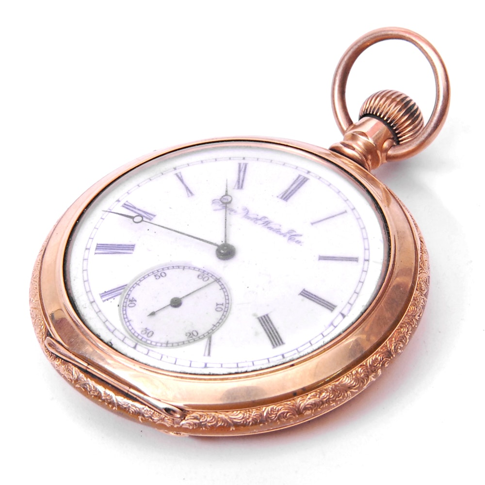 Elgin Open Face Pocket Watch